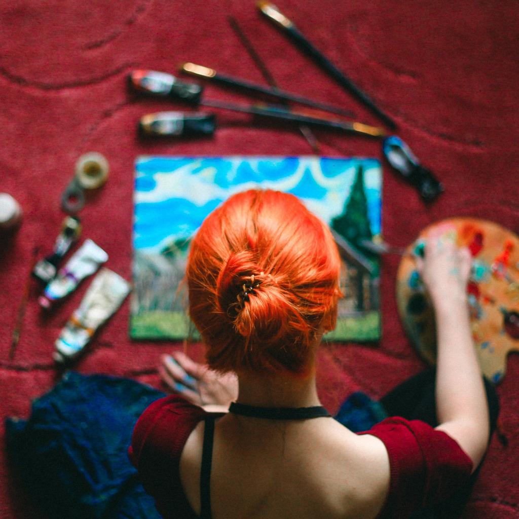 Картинки по запросу художник краска
