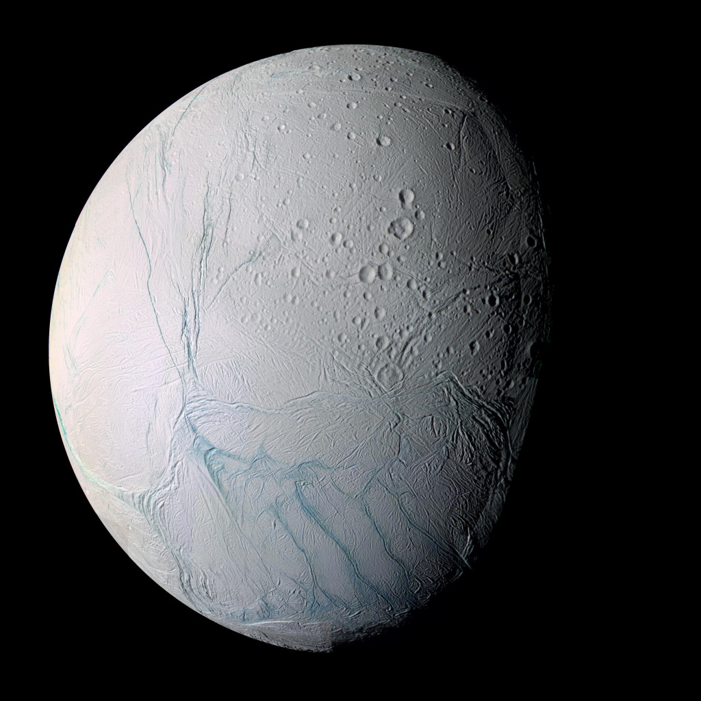 planet saturn moons - HD1024×1024