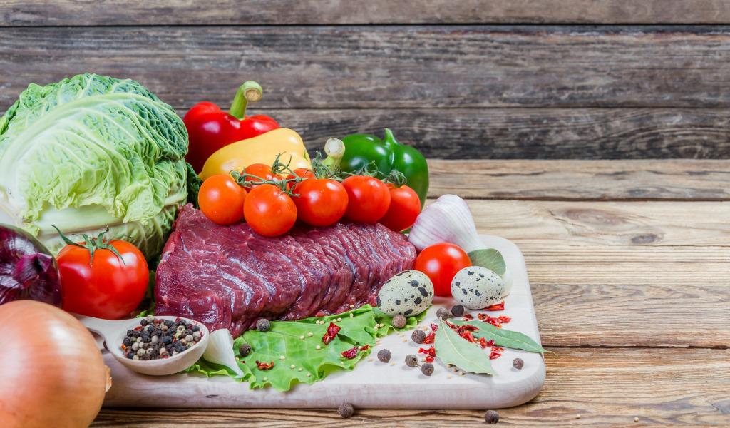 Мясная диеты с чередованием овощной