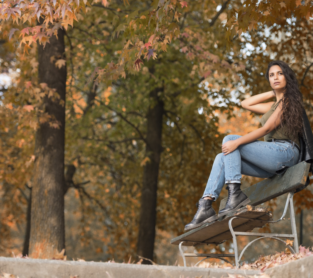 Секс в парке на скамейке — img 2
