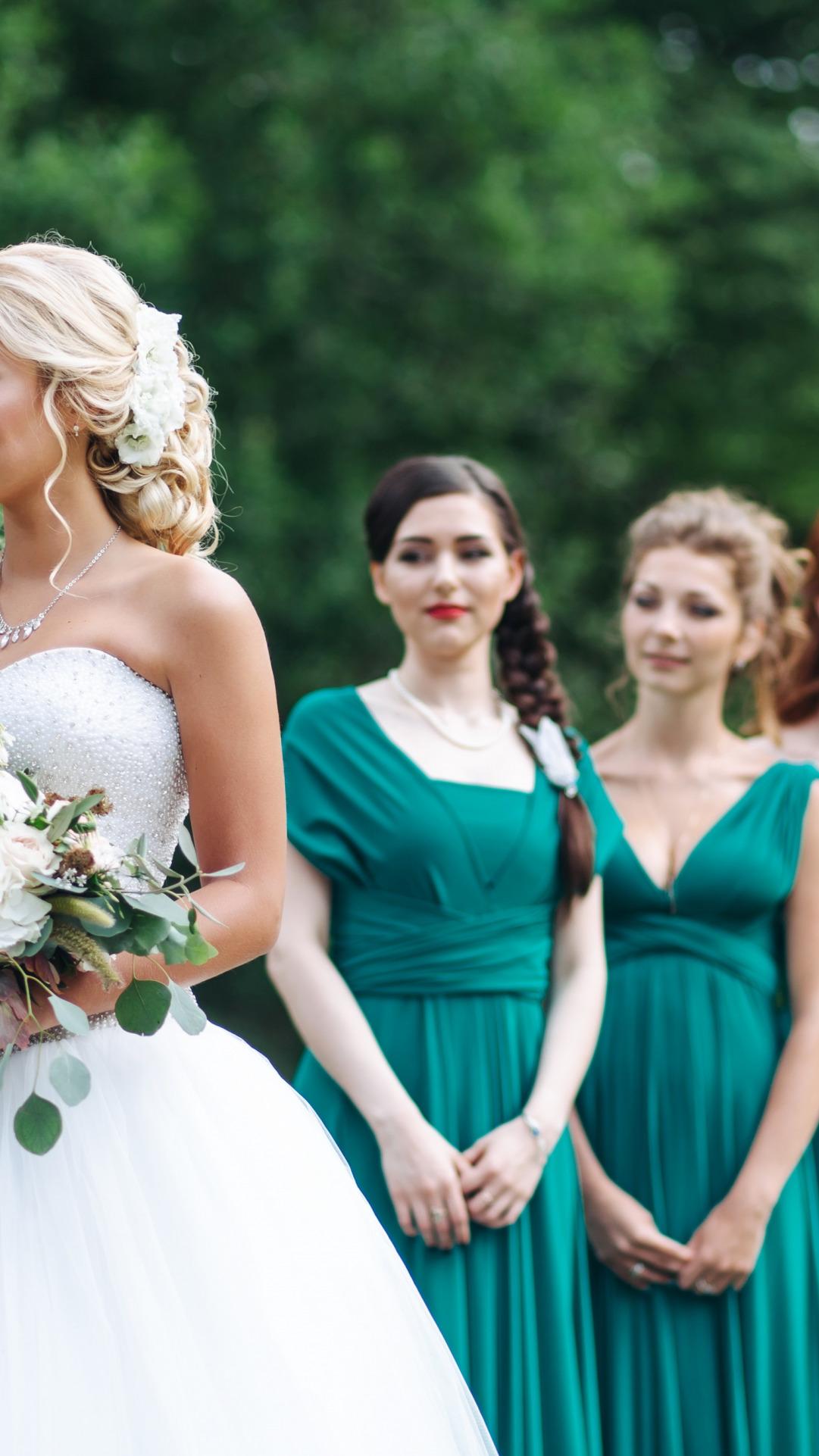 Свадебные прически подружки невесты