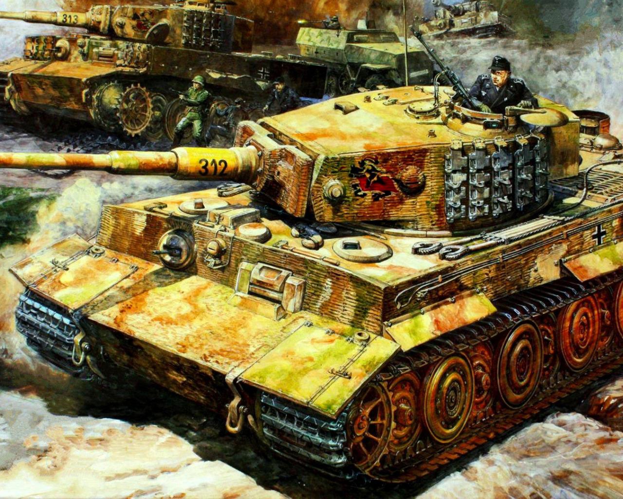 Лучшие картинки немецких танков отечественного импортного