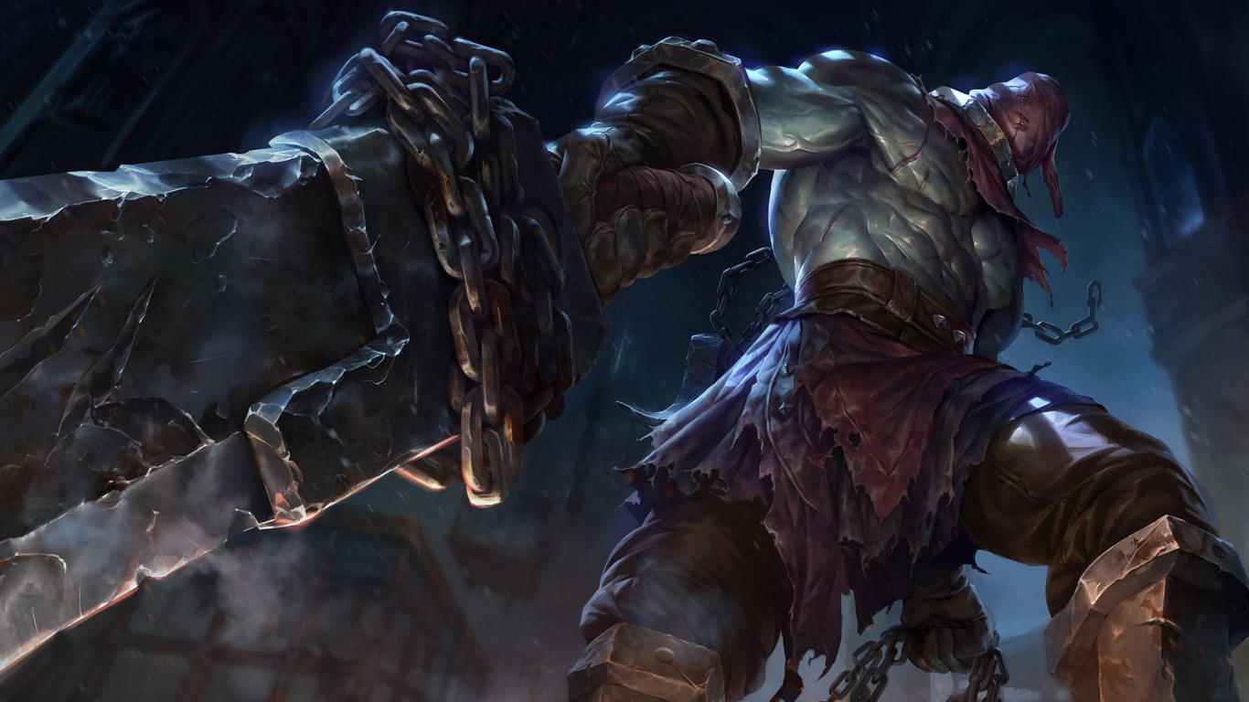 Обои чемпион, Nightmare Tryndamere - League of Legends, sixmorevodka studio. Игры foto 6