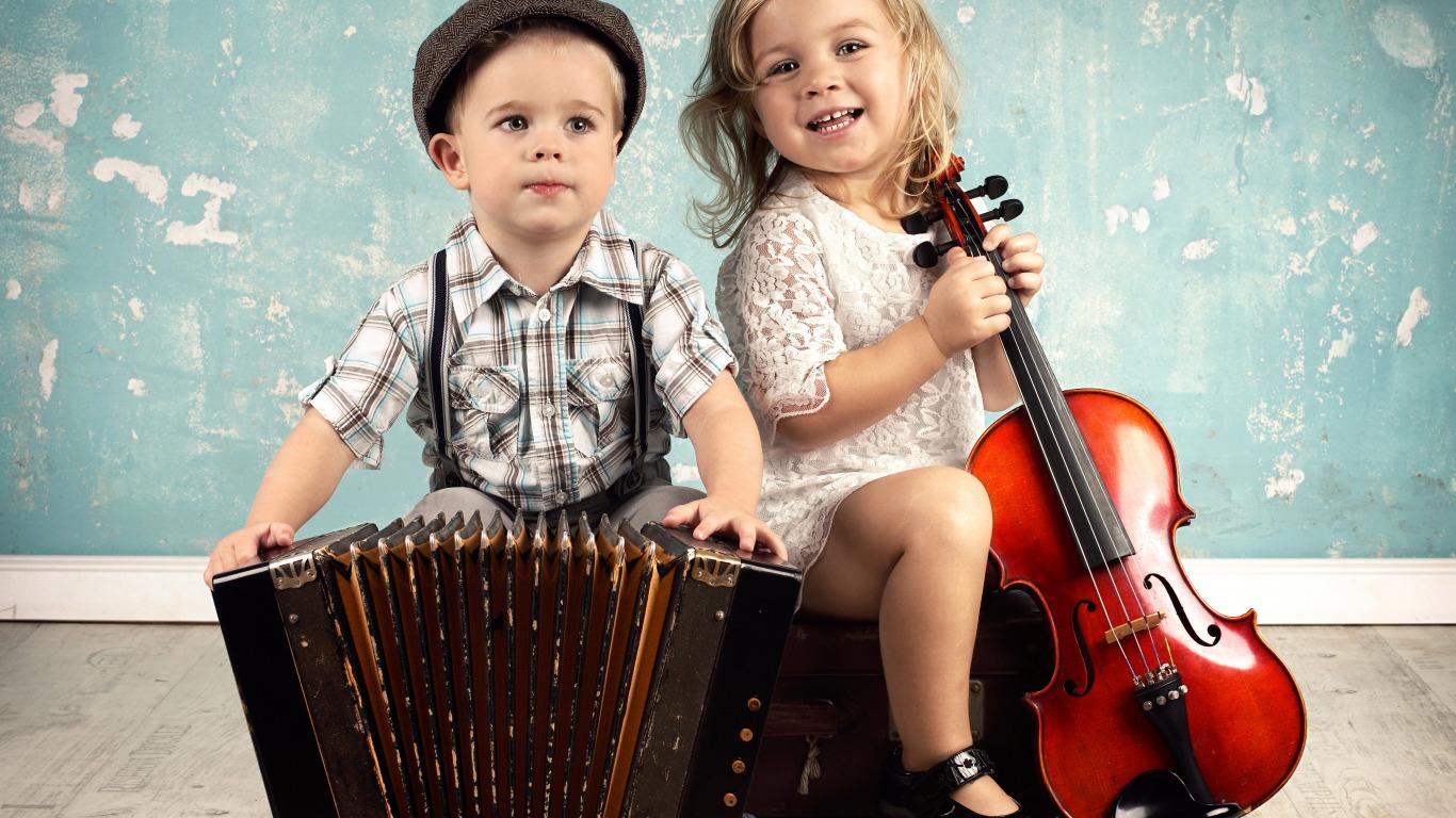 Фото ребенка с гармошкой