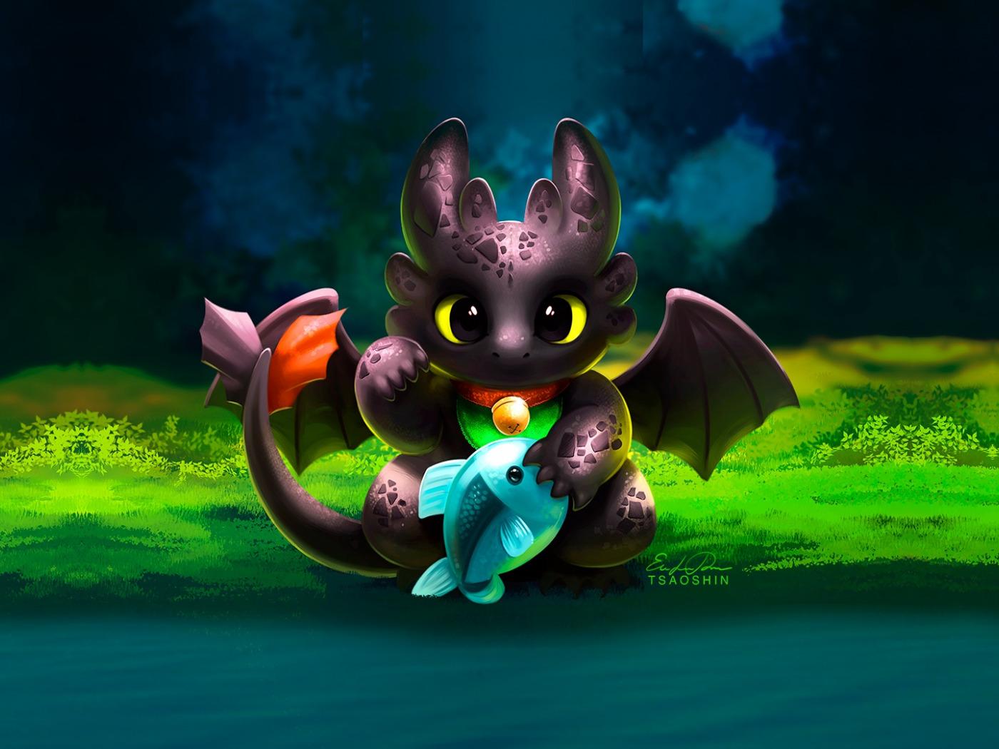 Картинки с дракончиками милые