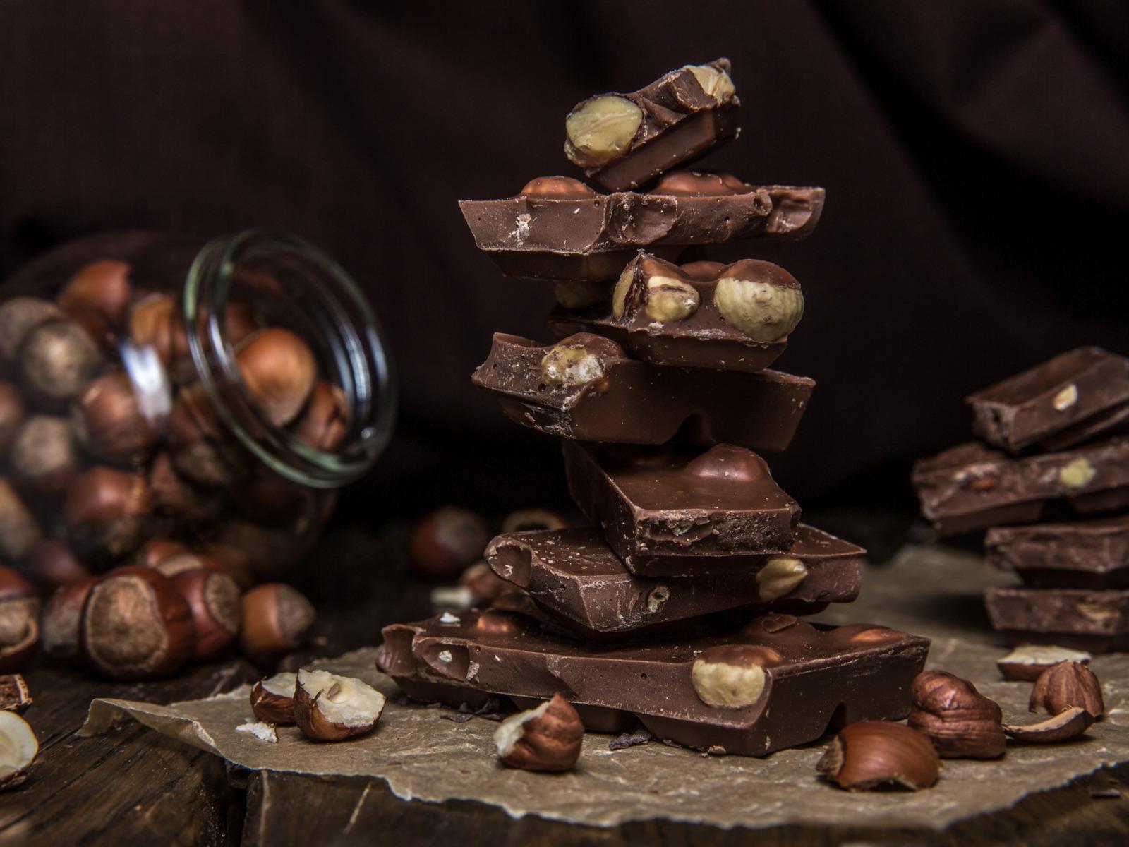 картинки шоколадки с орешками нашем городе