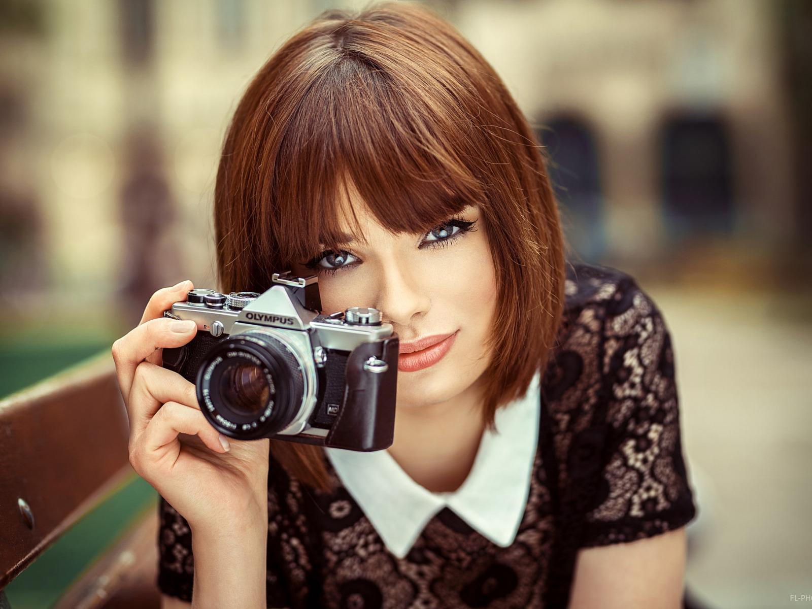 профессиональный фотоаппарат для портрета очень хотелось сделать