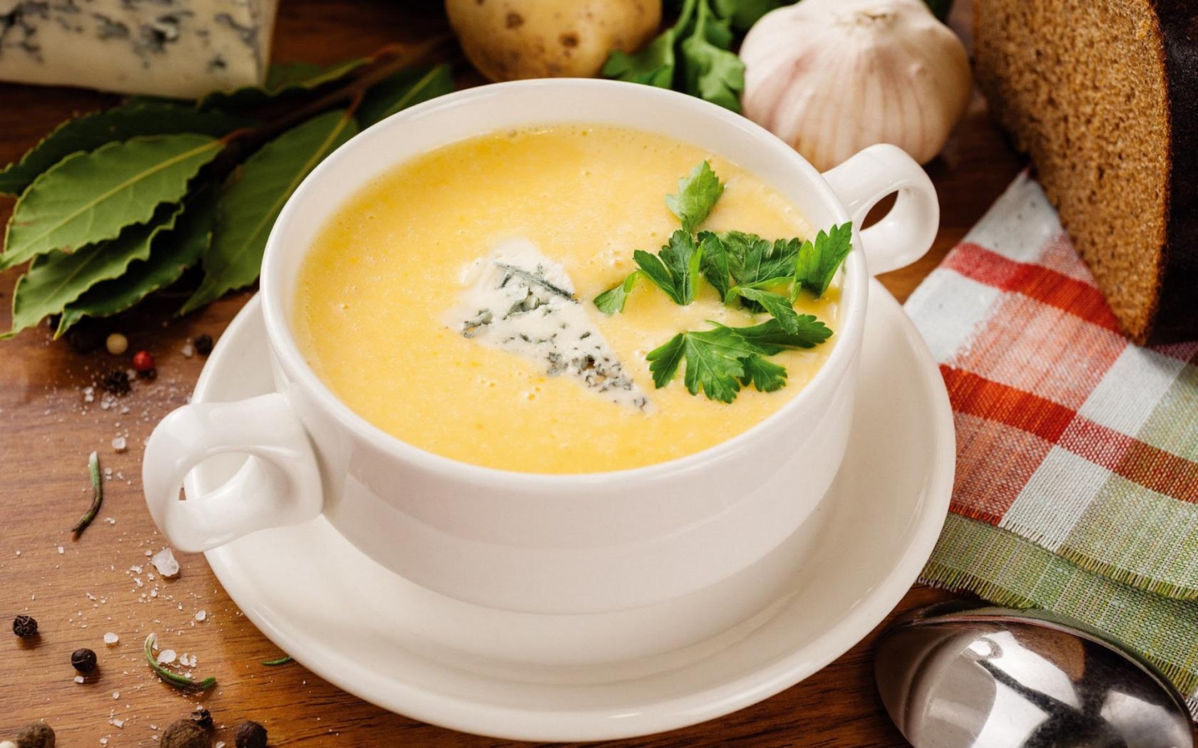 Сырный крем-суп рецепт с плавленным сыром пошагово