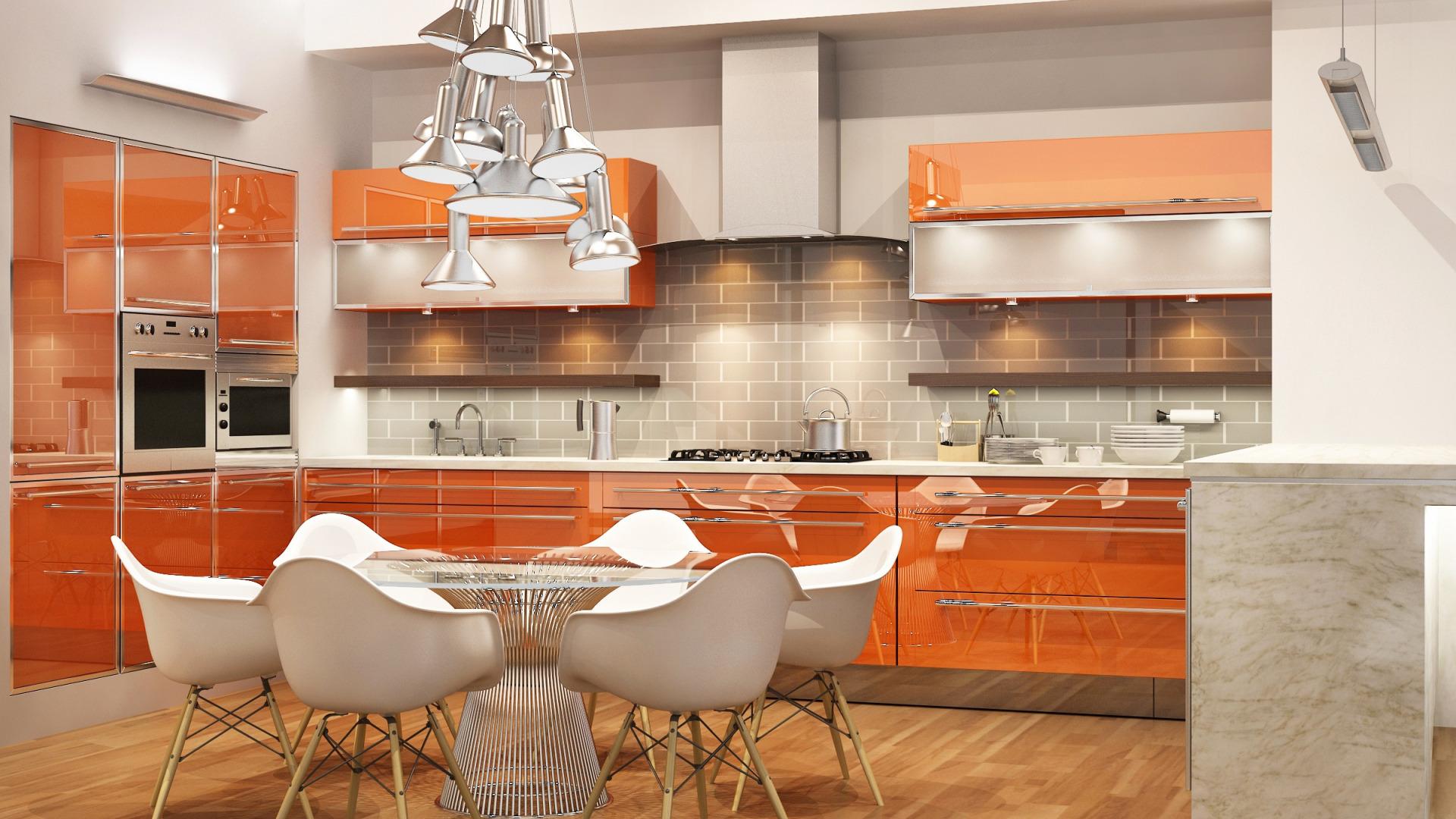 Кухни дизайн 3д