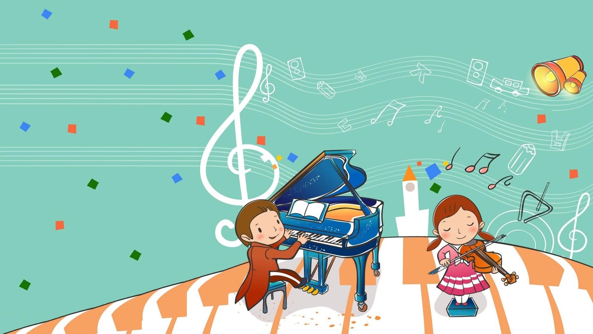 Музыка детские с картинками