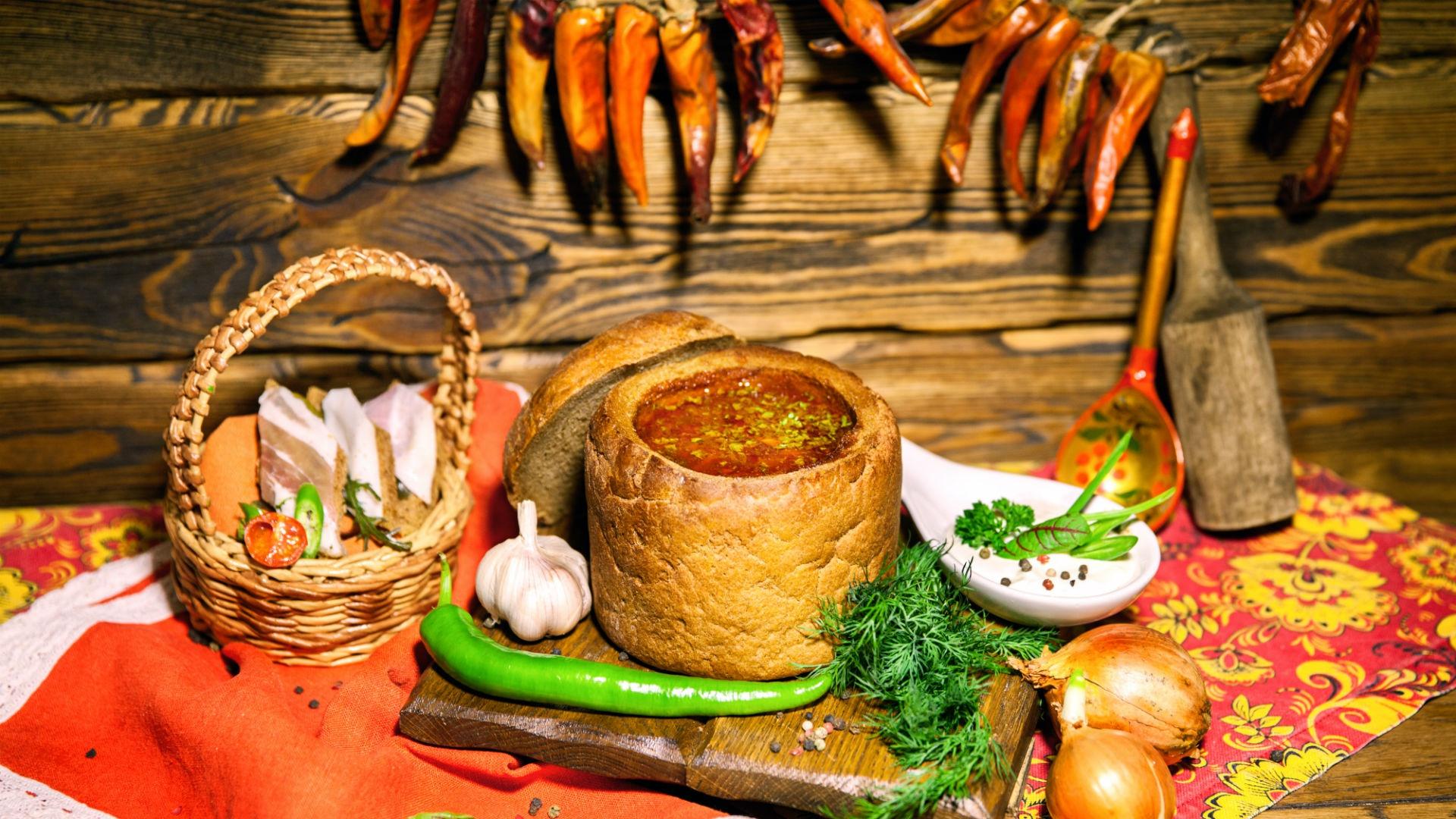 Кухня на руси фото