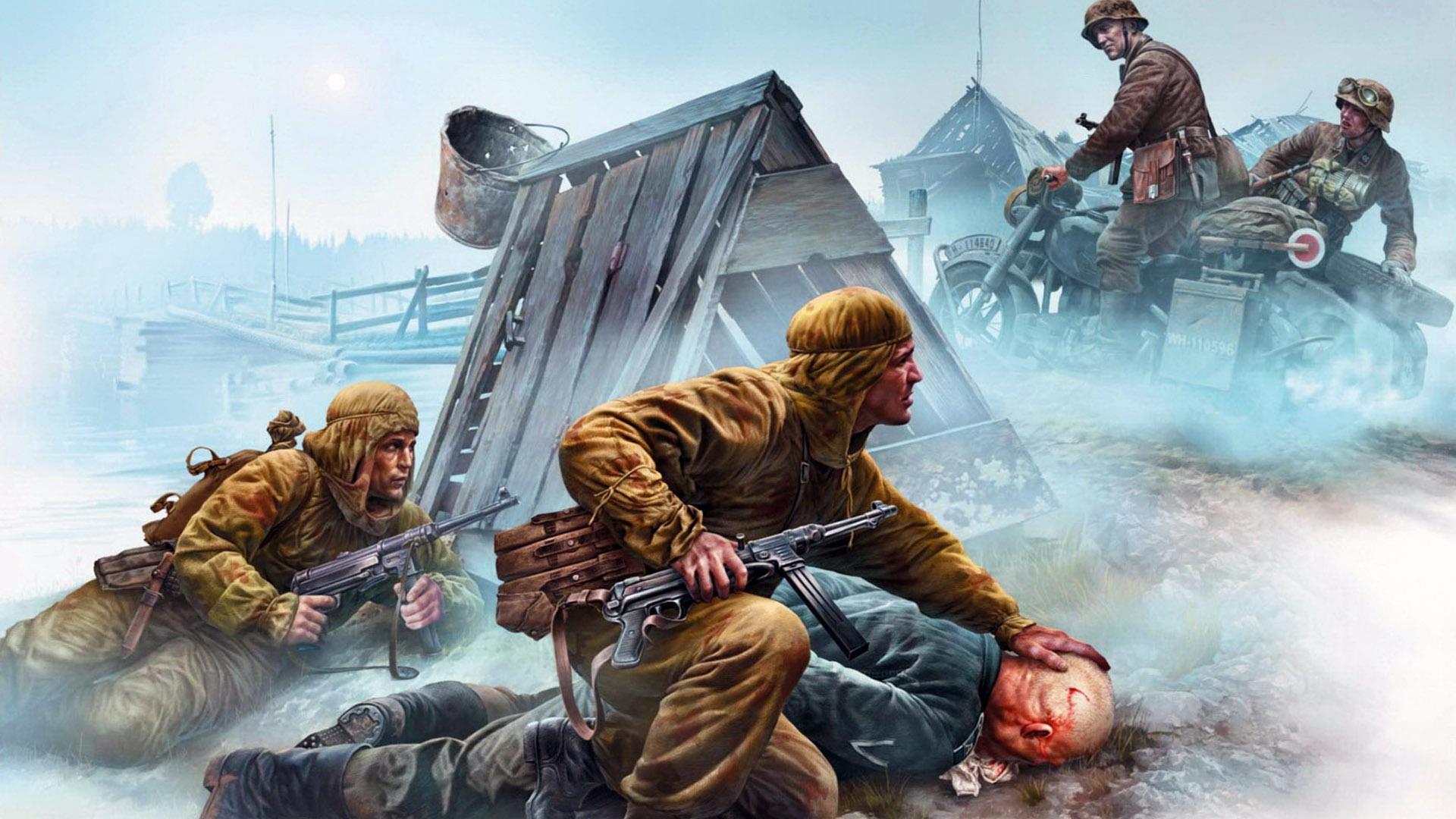 Картинки день победы в тылу врага