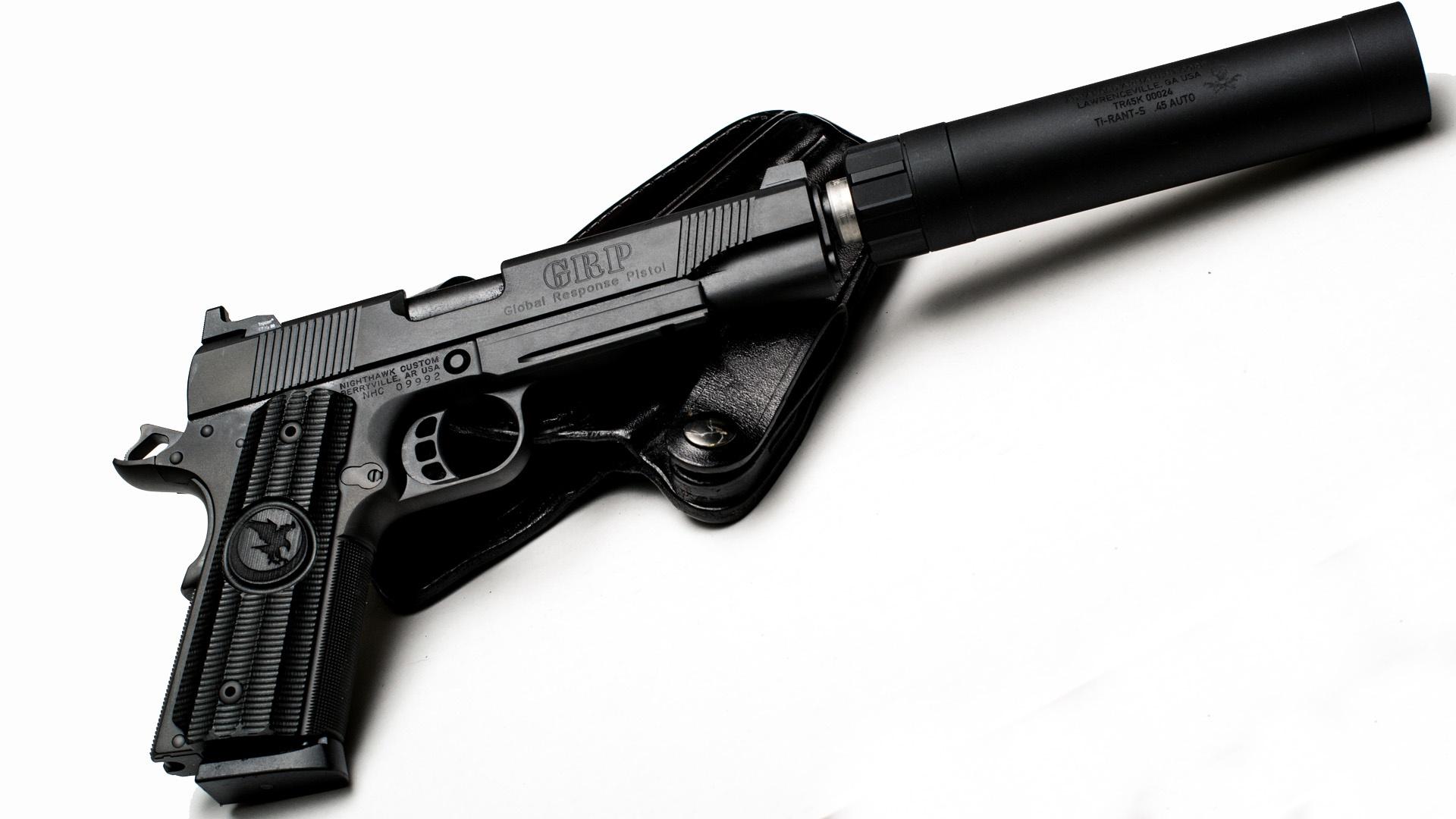 Глушитель в картинках для пистолета