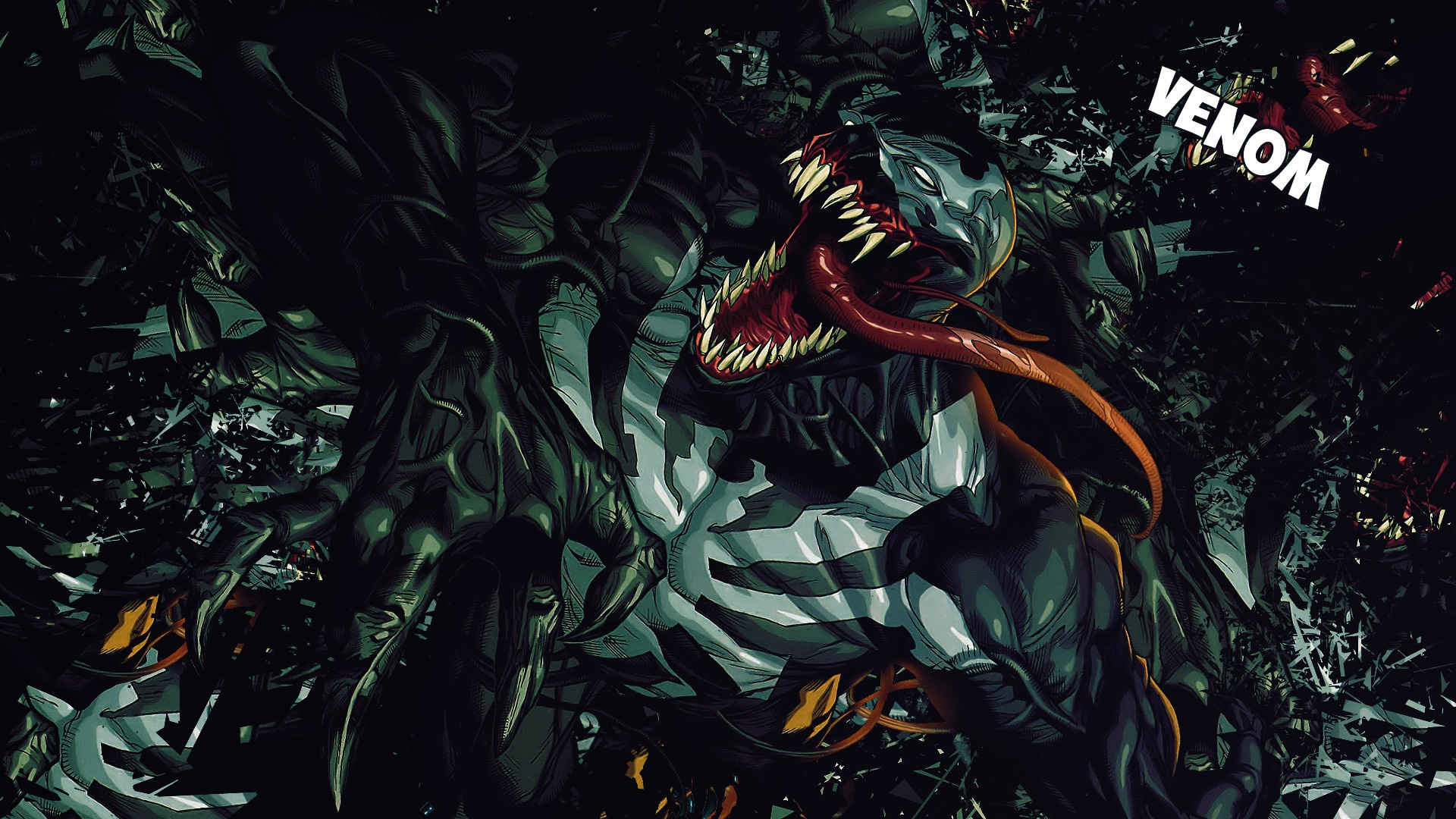 Images Of Venom Eyes And Teeth Wallpaper Tumblr Rock Cafe