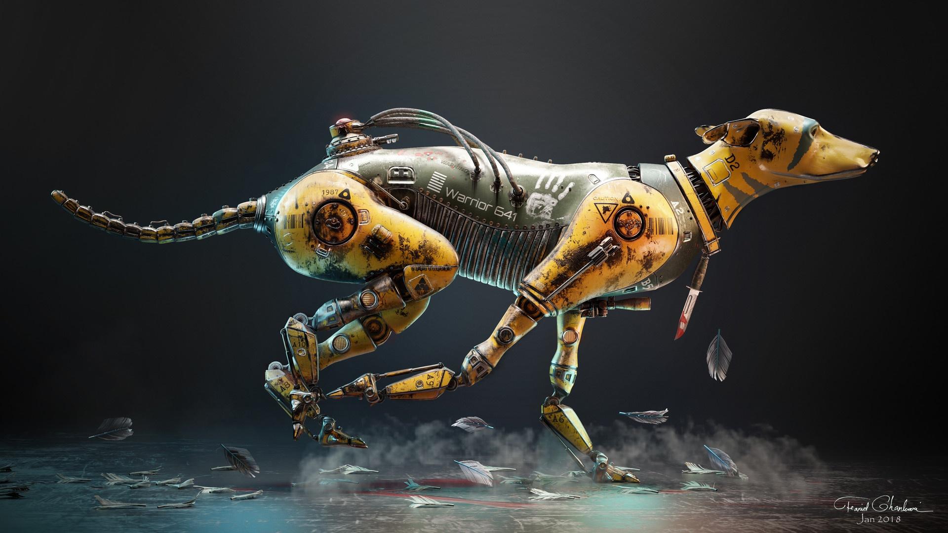 денежные механическая собака картинки километров сто метров