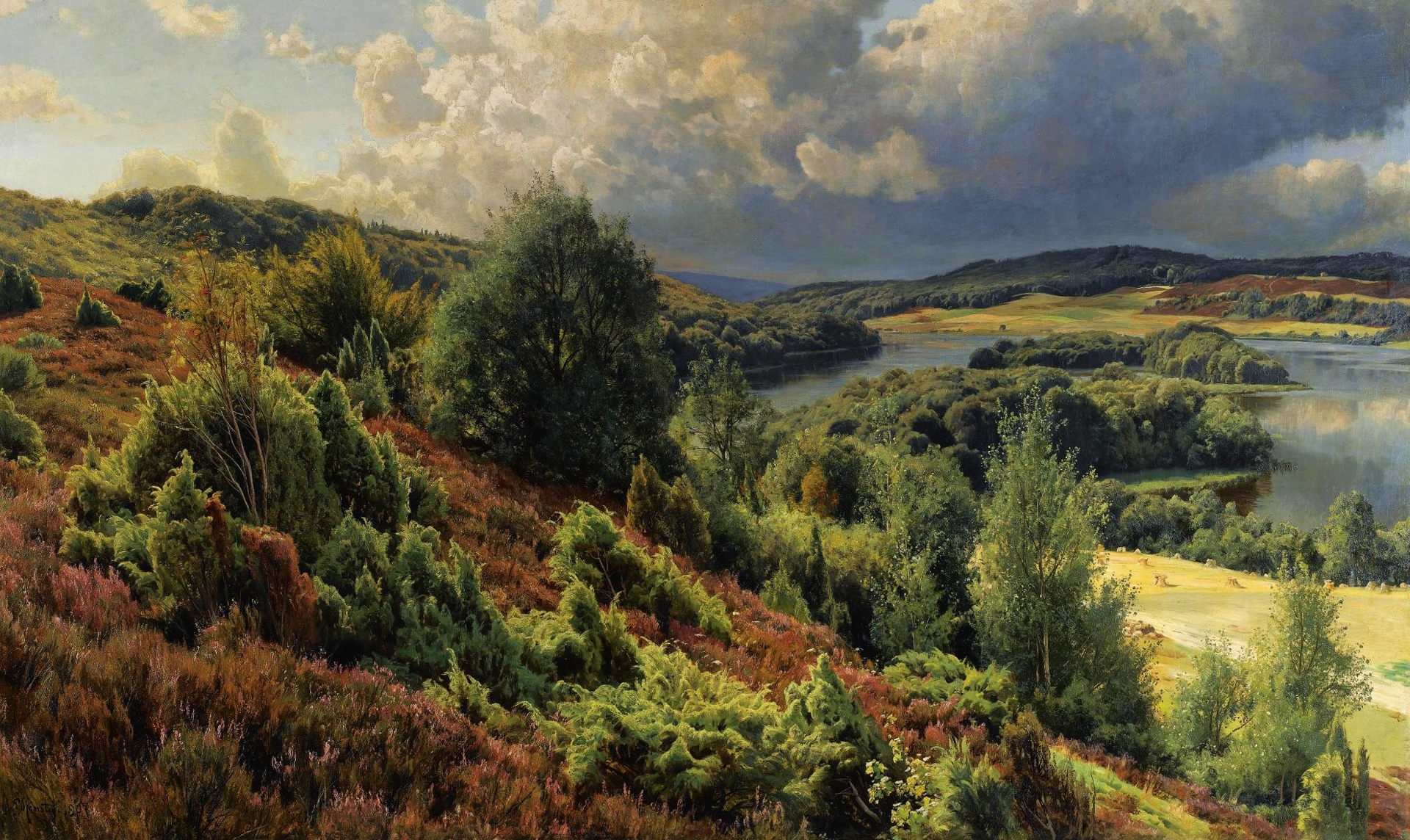 природные зоны в картинах художников