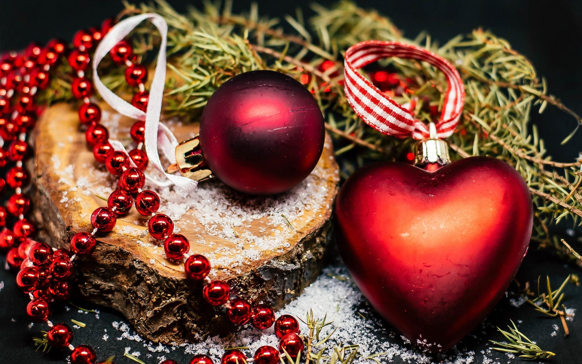 про новогодние сердечки картинки самого