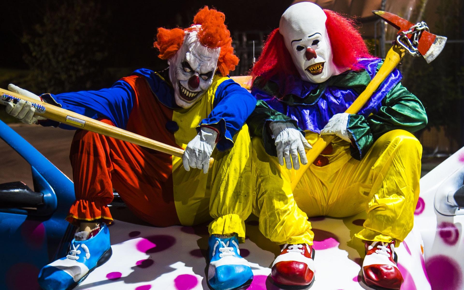 фото клоуна полунина для обоев рабочего стола озере