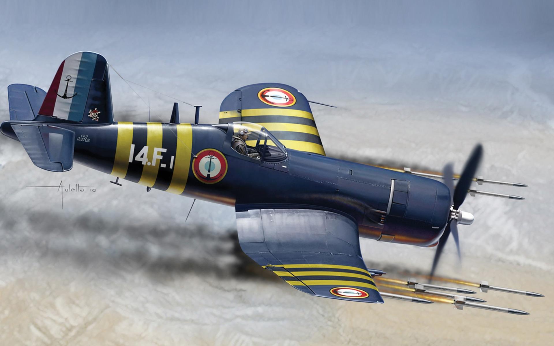 Chance Vought F4U Corsair  № 2361723 без смс