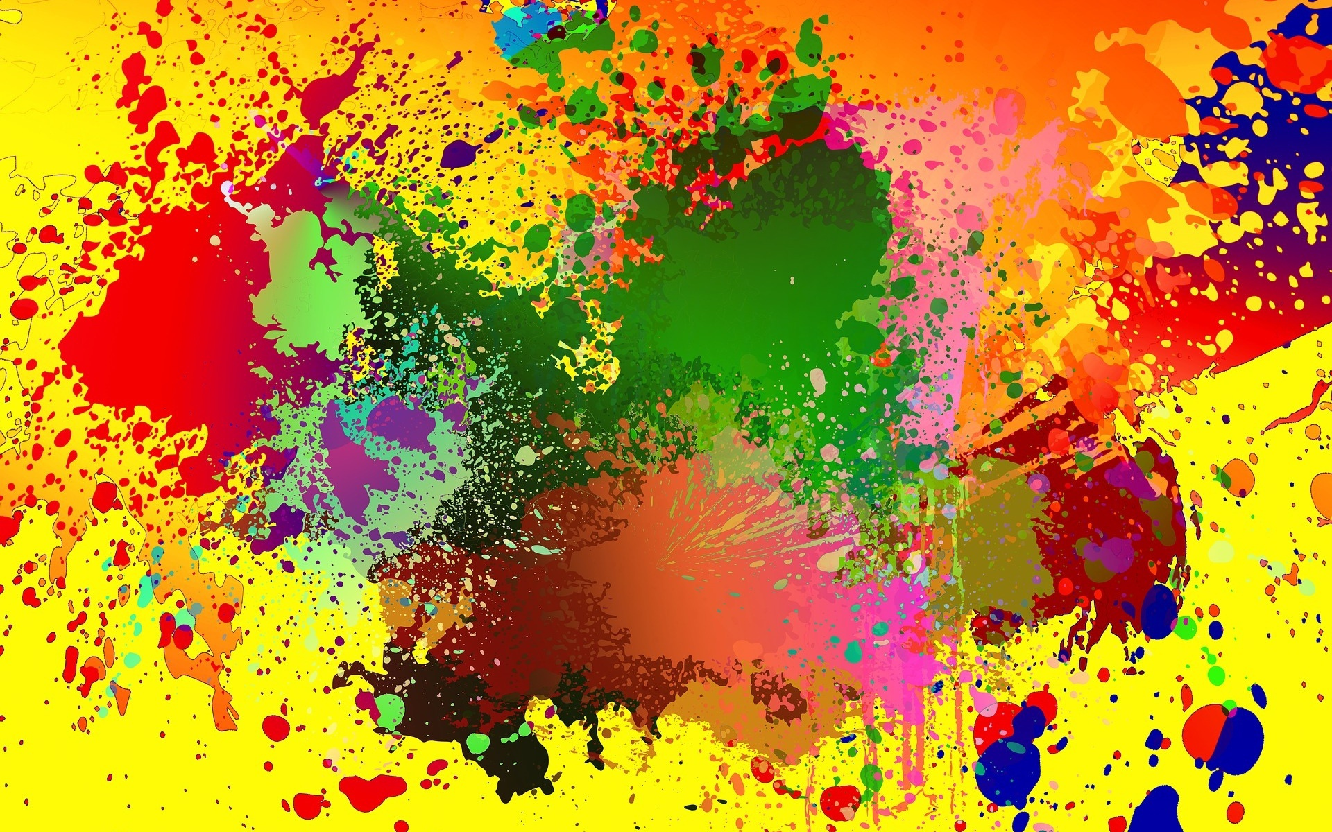 этой картинка пятен краски структура расцветка привлекает
