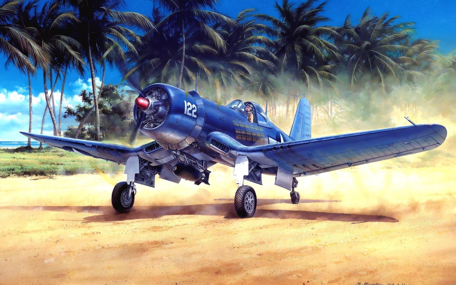 Chance Vought F4U Corsair  № 2361687 загрузить