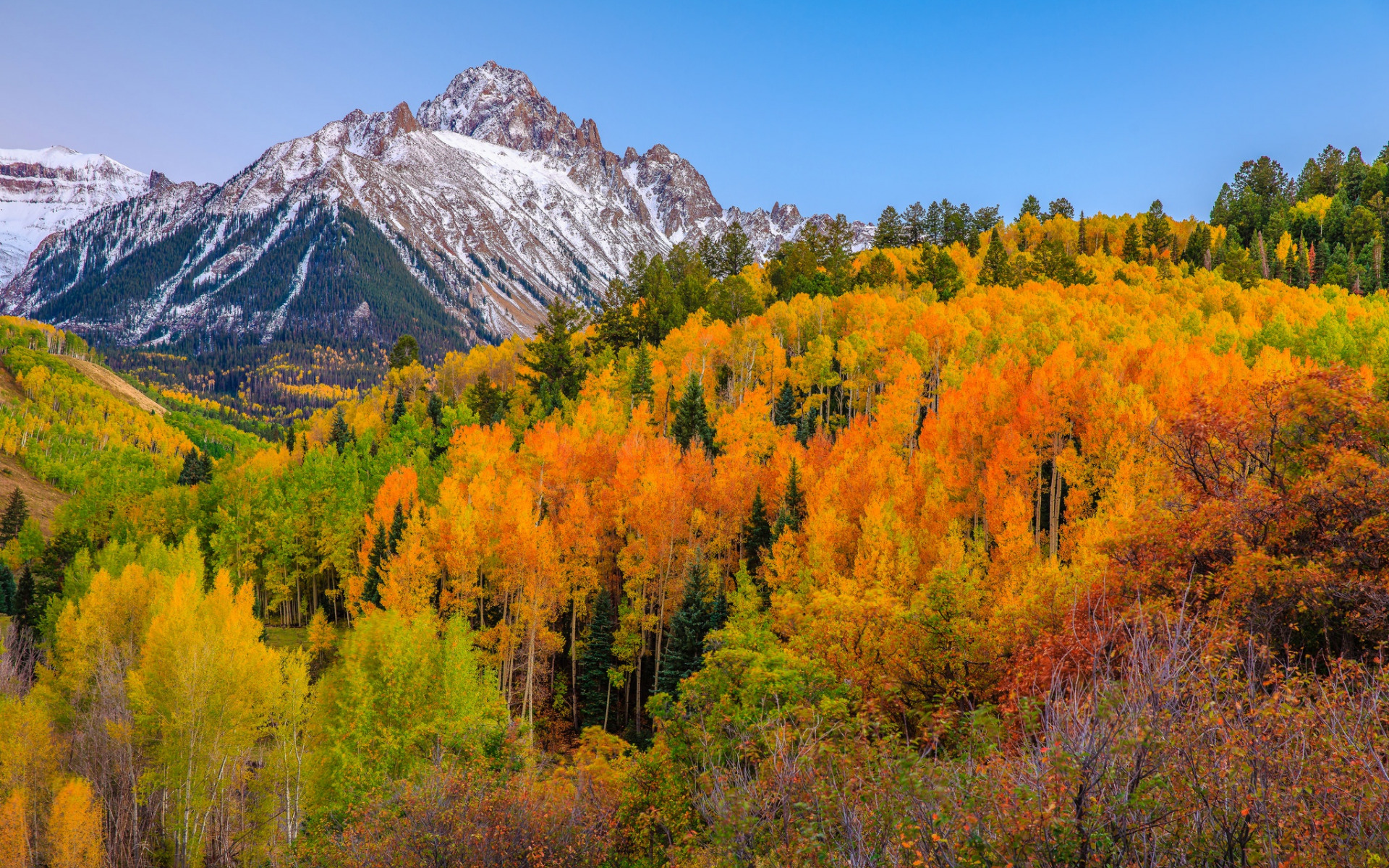 фото картинки природа в горах осень когда-то