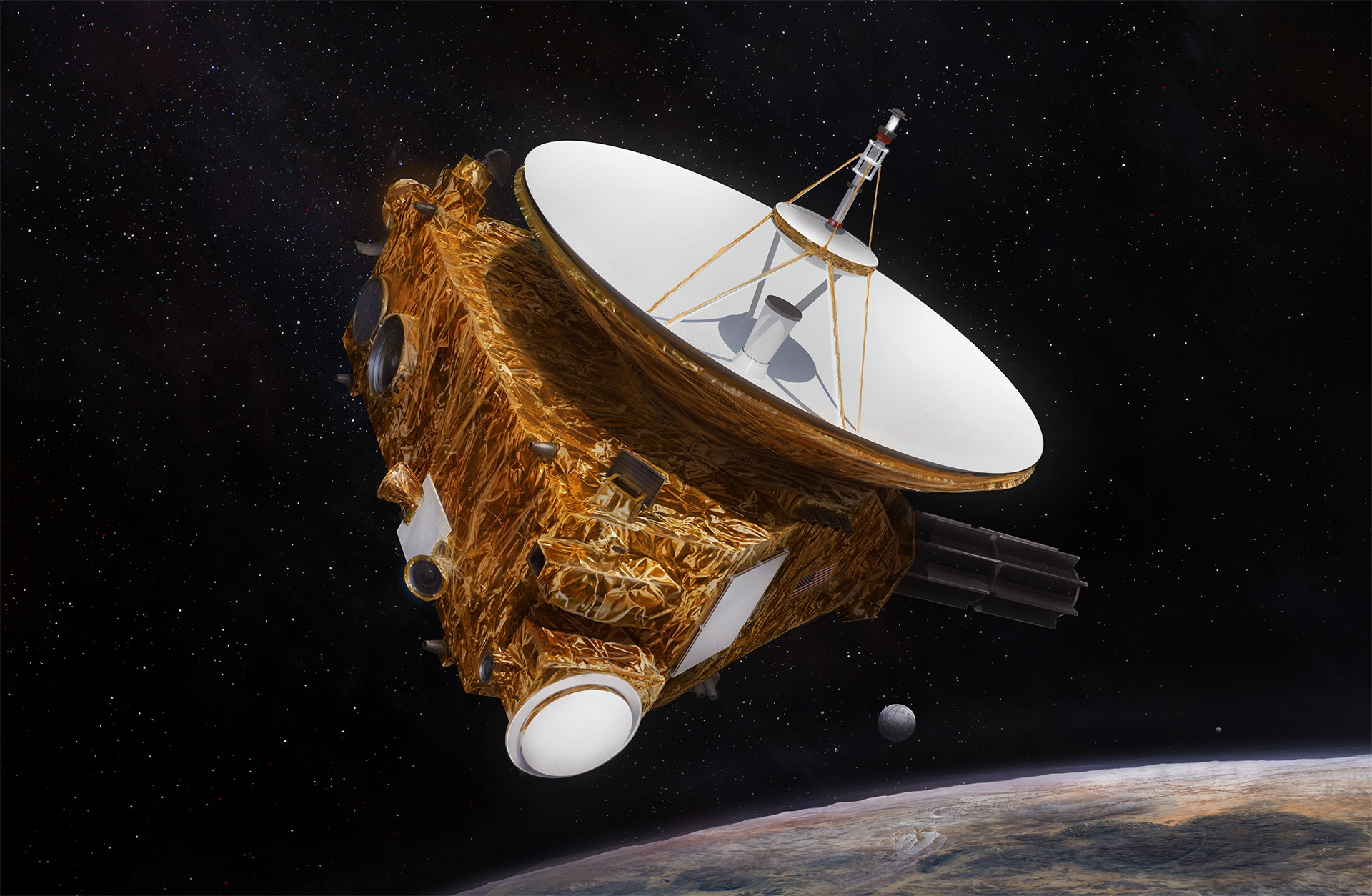 space probe to pluto - HD 1920×1254