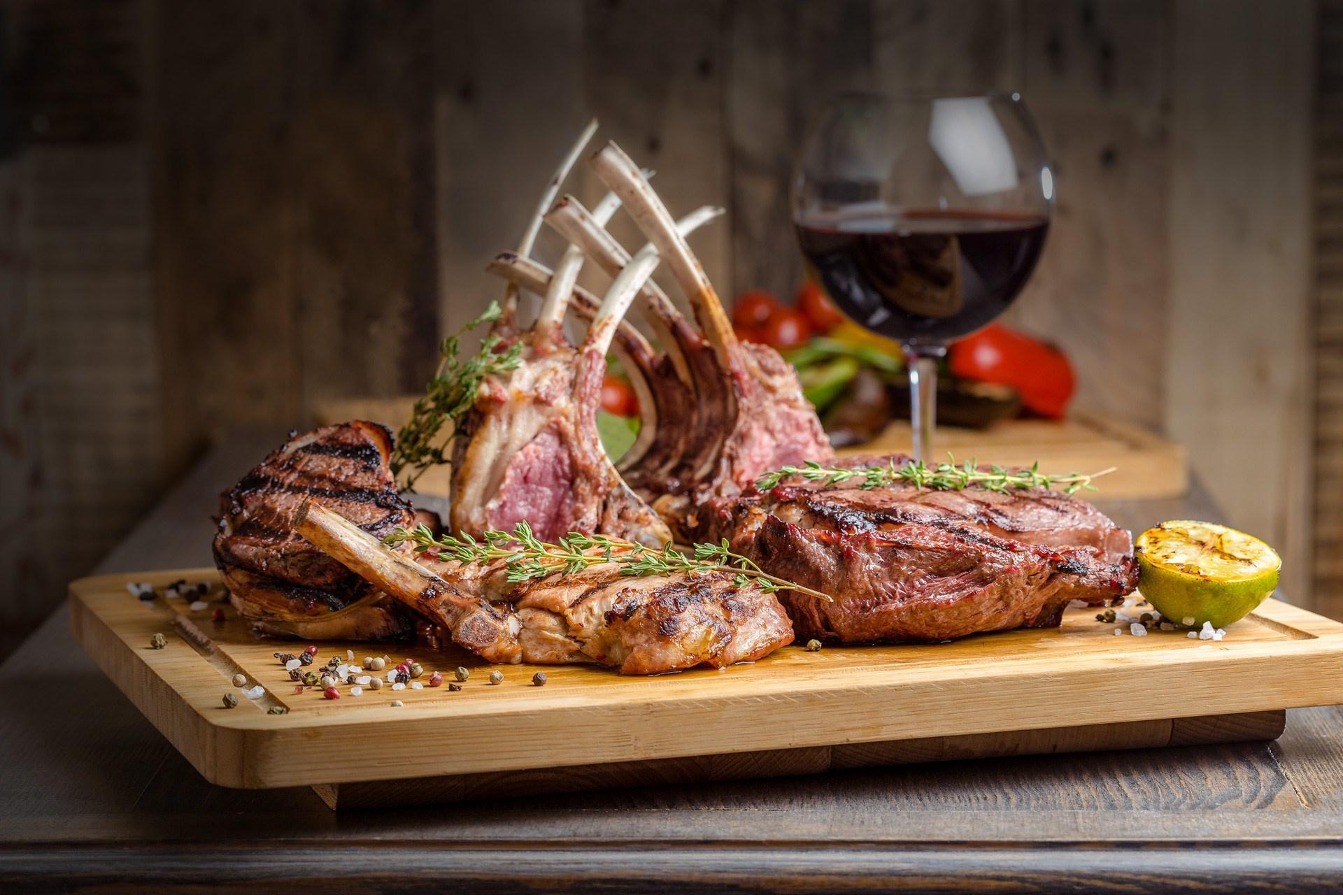 Приглашения, картинки с ужином мясо
