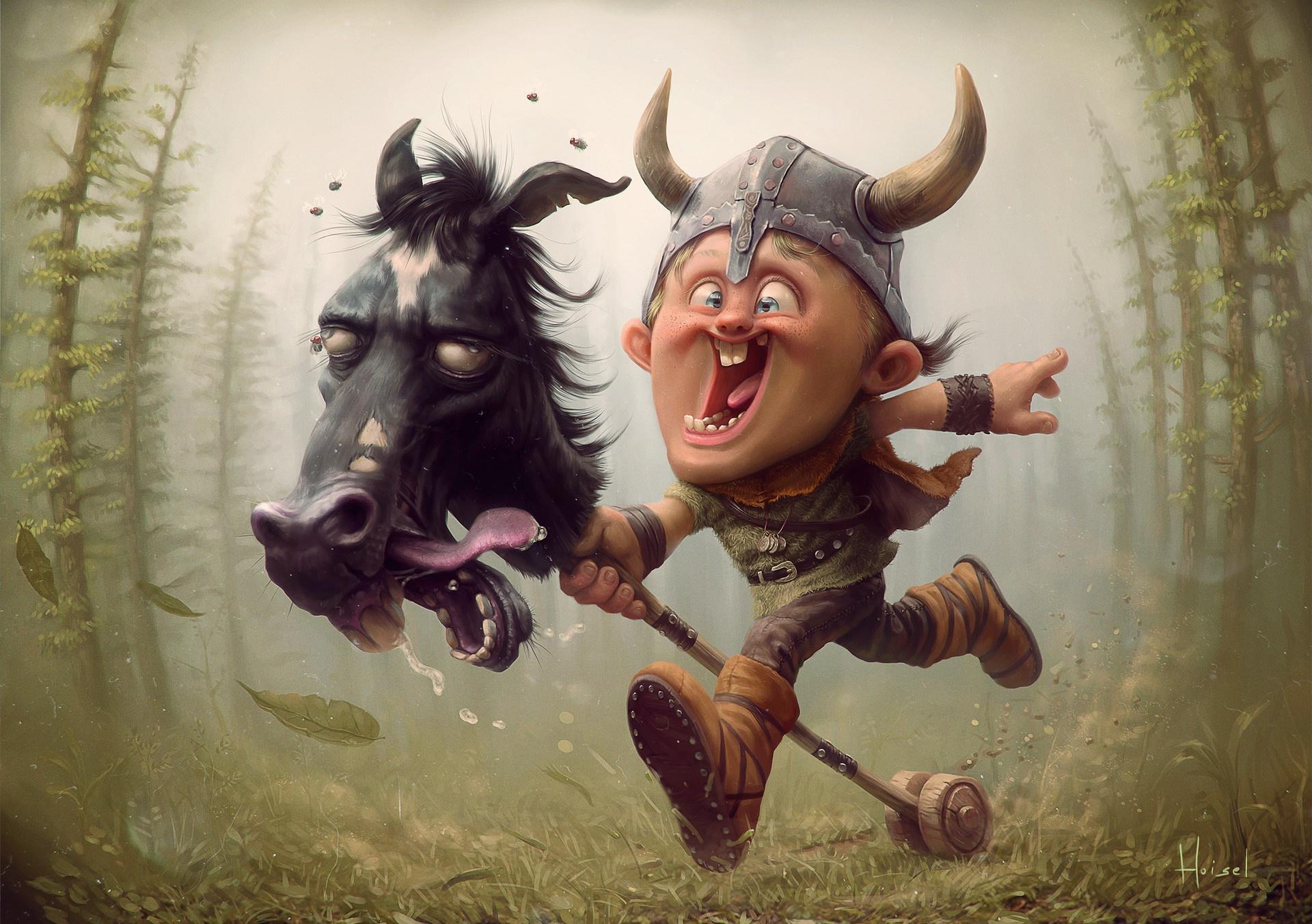 Прикольные картинки игра викинги, днем
