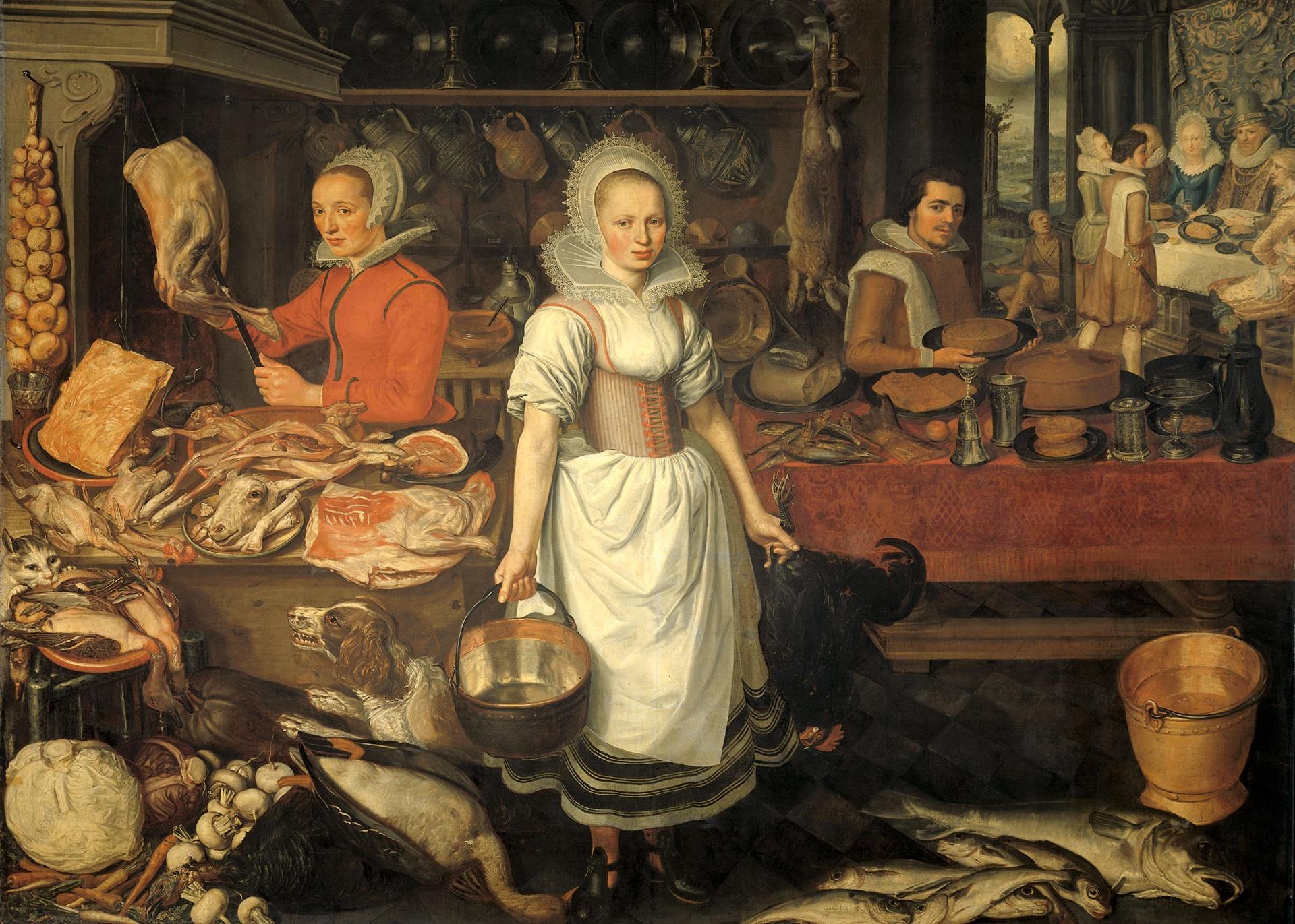 существует еда в средние века в россии рецепт горохового