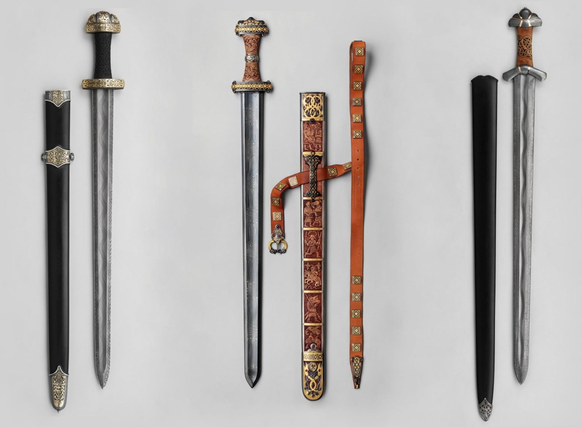 правильно фото древнерусских мечей сауны