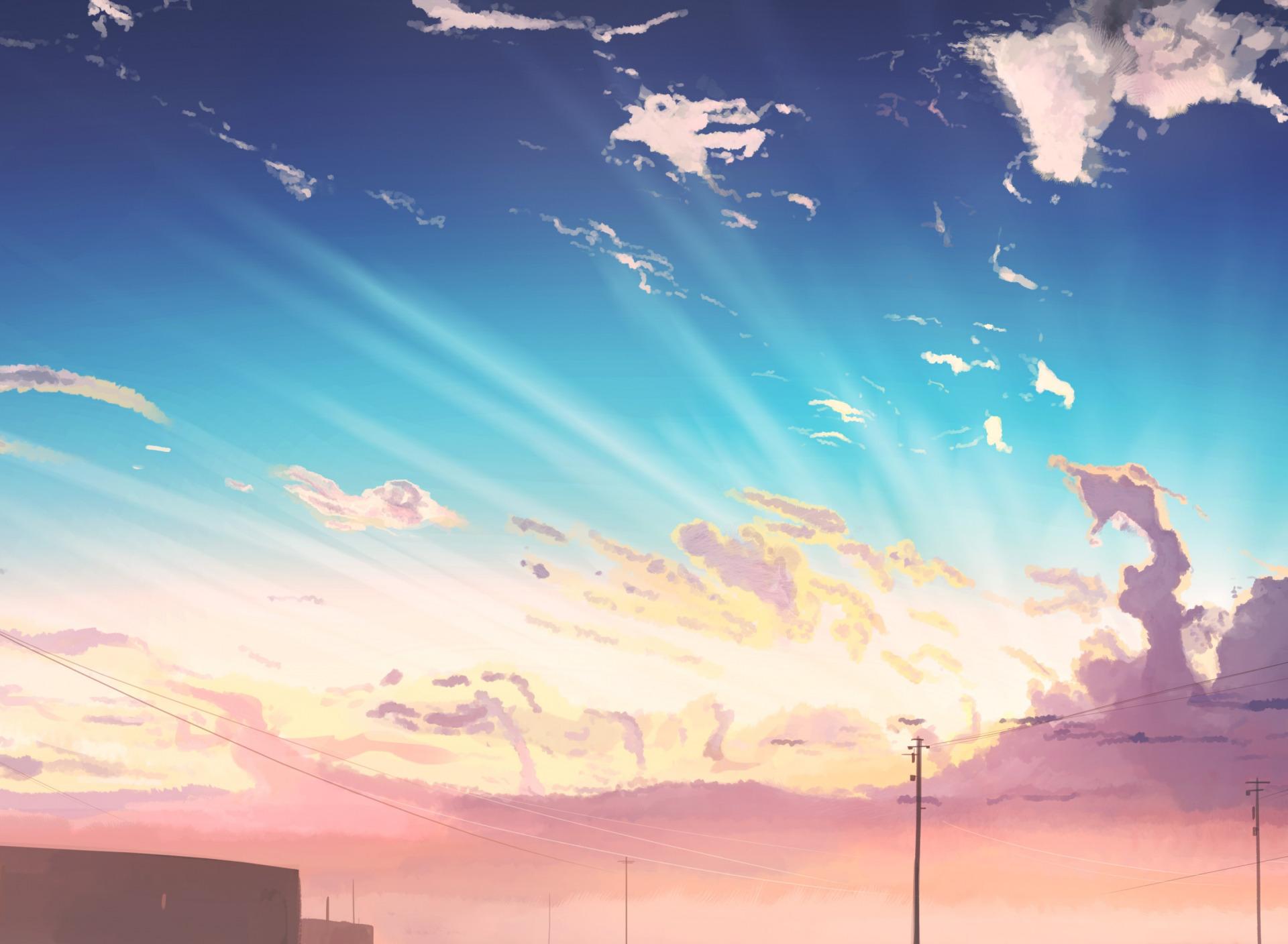 это, картинки небо арт холмы удивительный