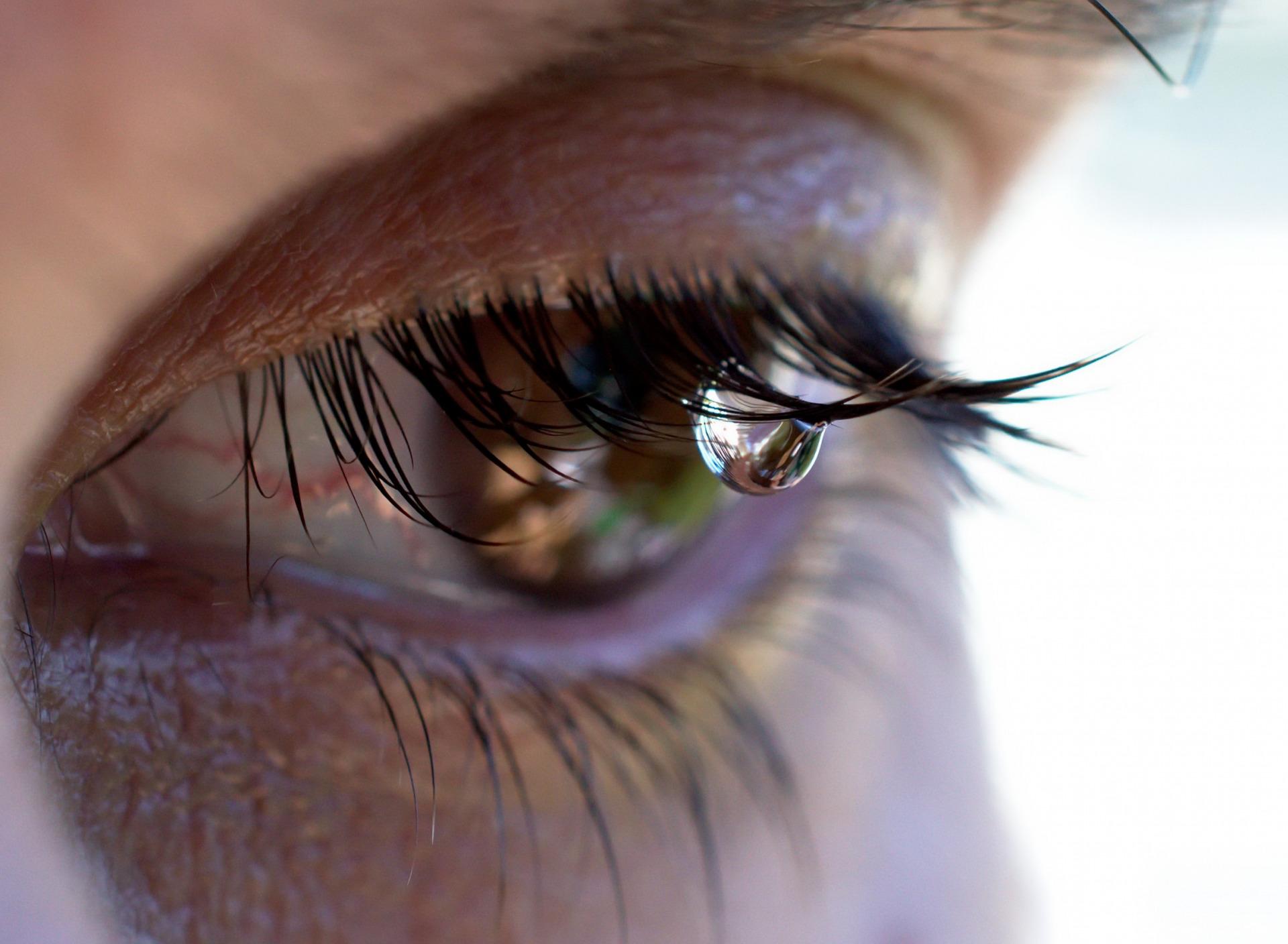 Игре, открытка глаза в слезах