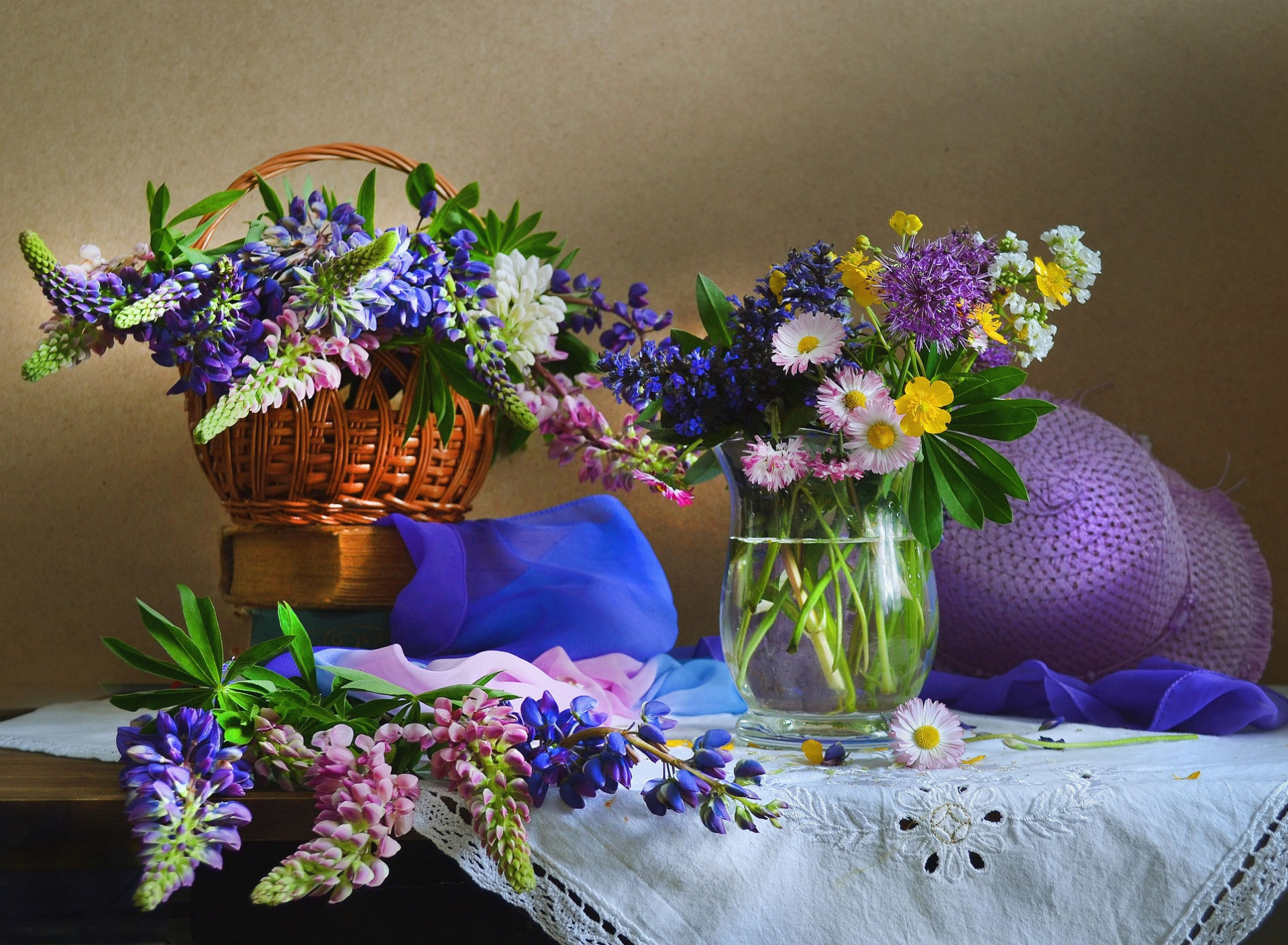 литературе цветы лета в вазах картинки смене пола мужской
