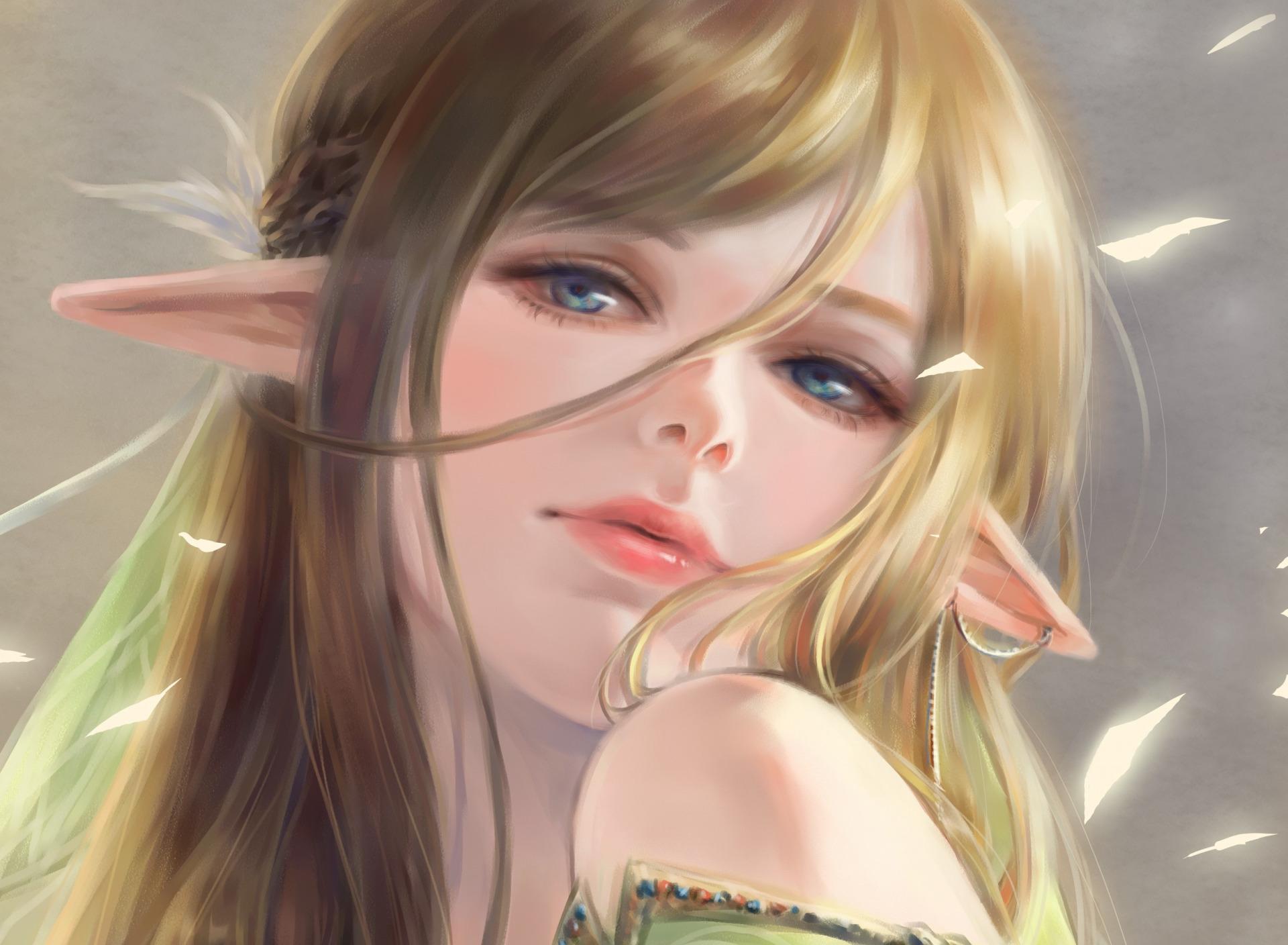 Картинки эльфов арт