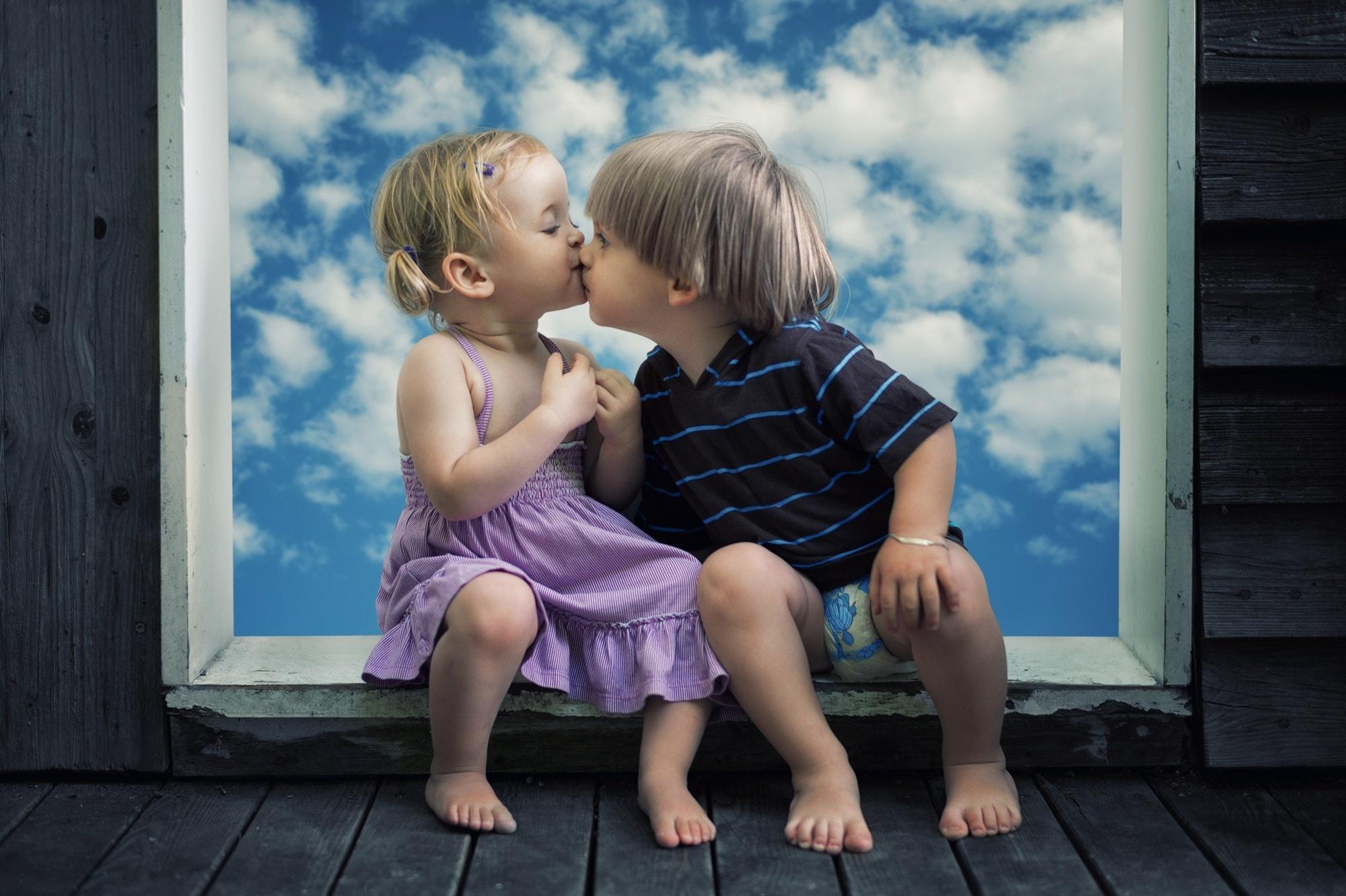 Открытки дети любовь