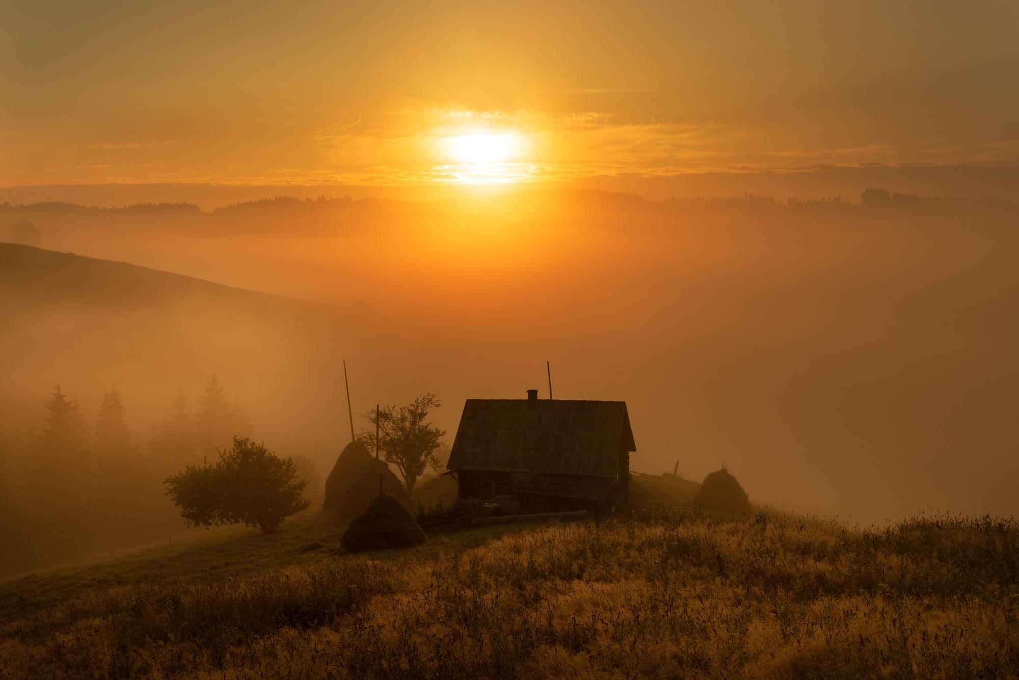 картинка солнце село за село день с собою увело частного