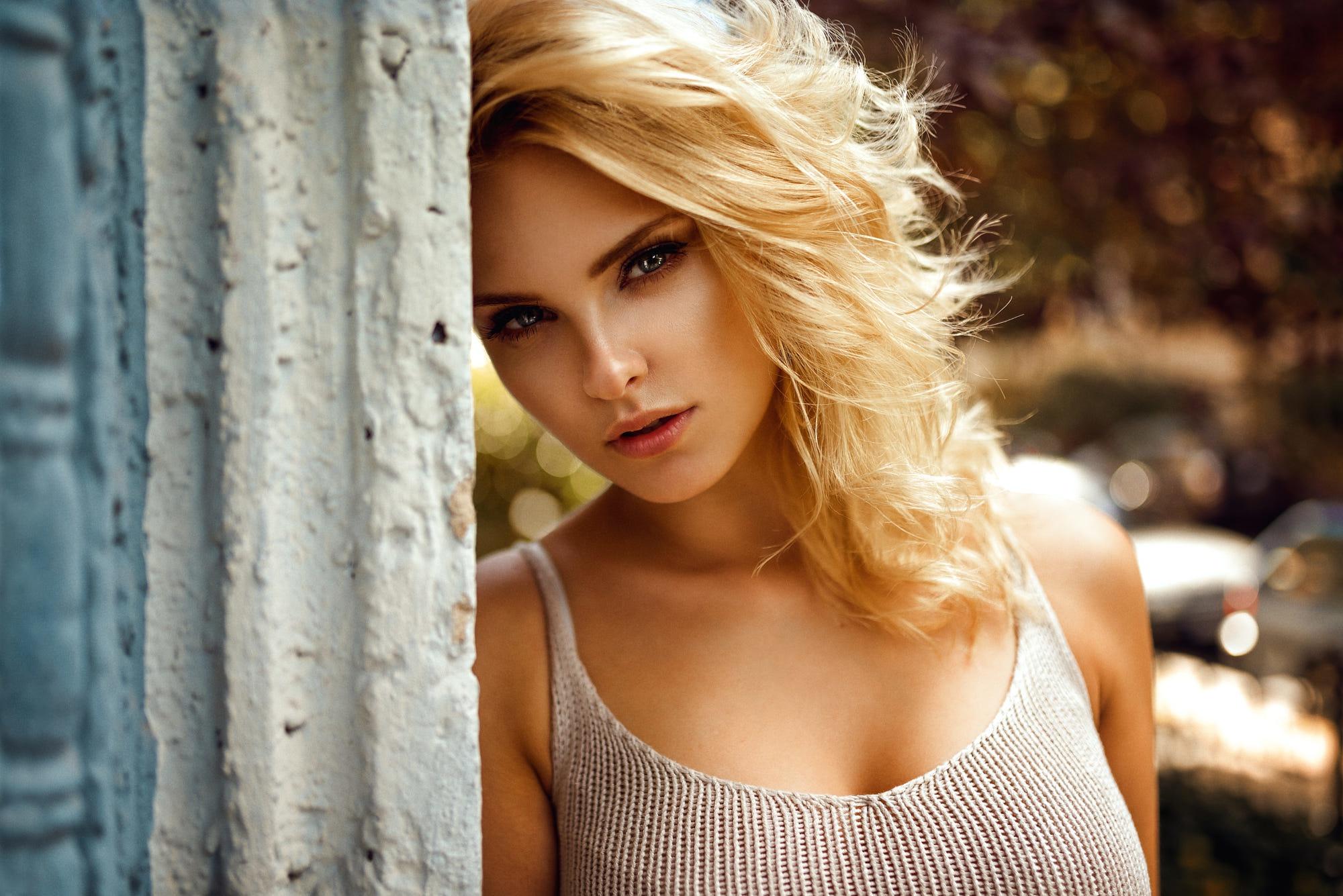 Красивые девушки фотомодели блондинки фото