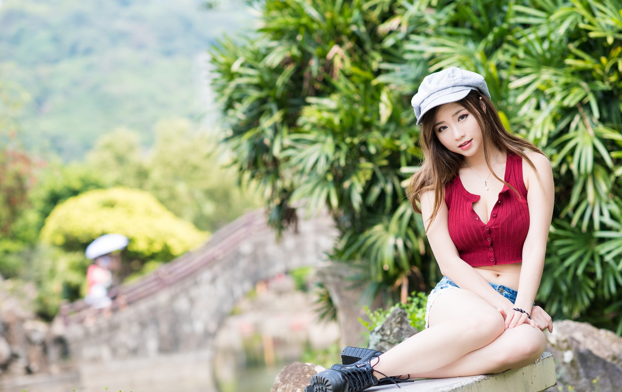 Sexy asian girl screensavers