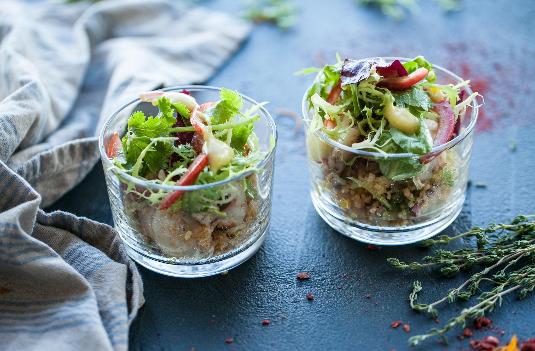 салаты в бокалах рецепты с фото элунда-это