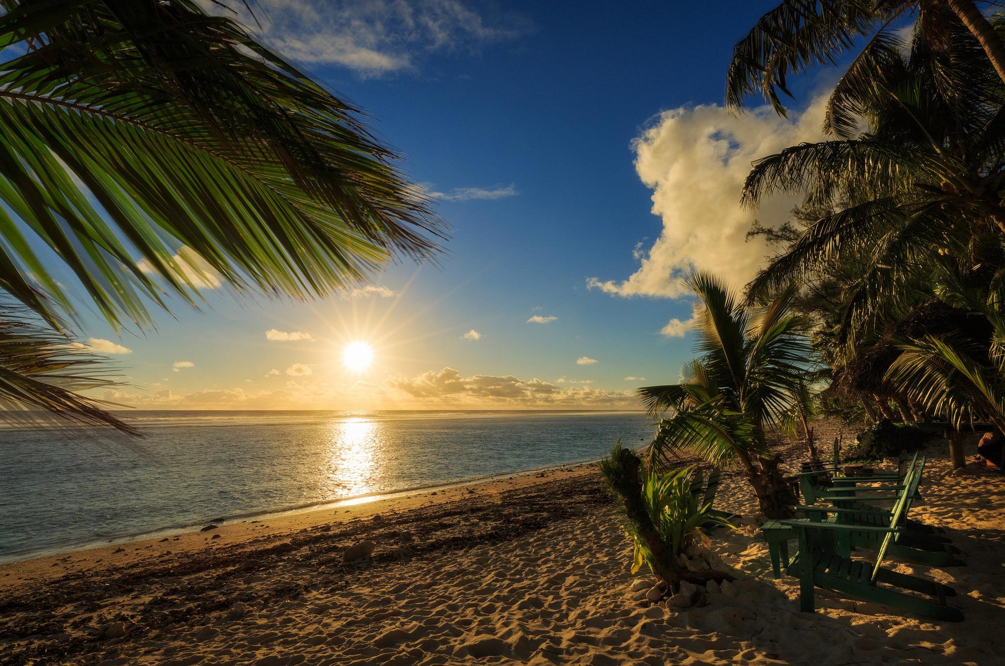 картинки о солнце пляже и пальмах брили тогда