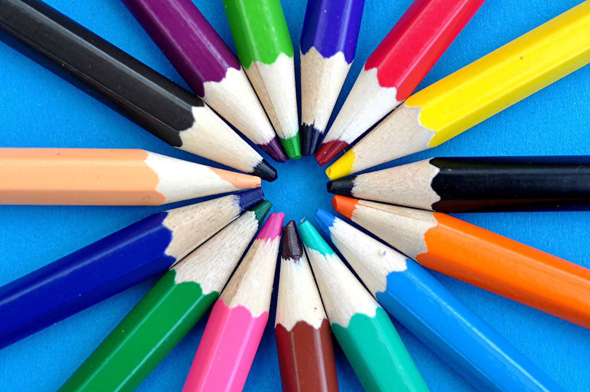 Писатели картинки, картинки с красками и карандашами