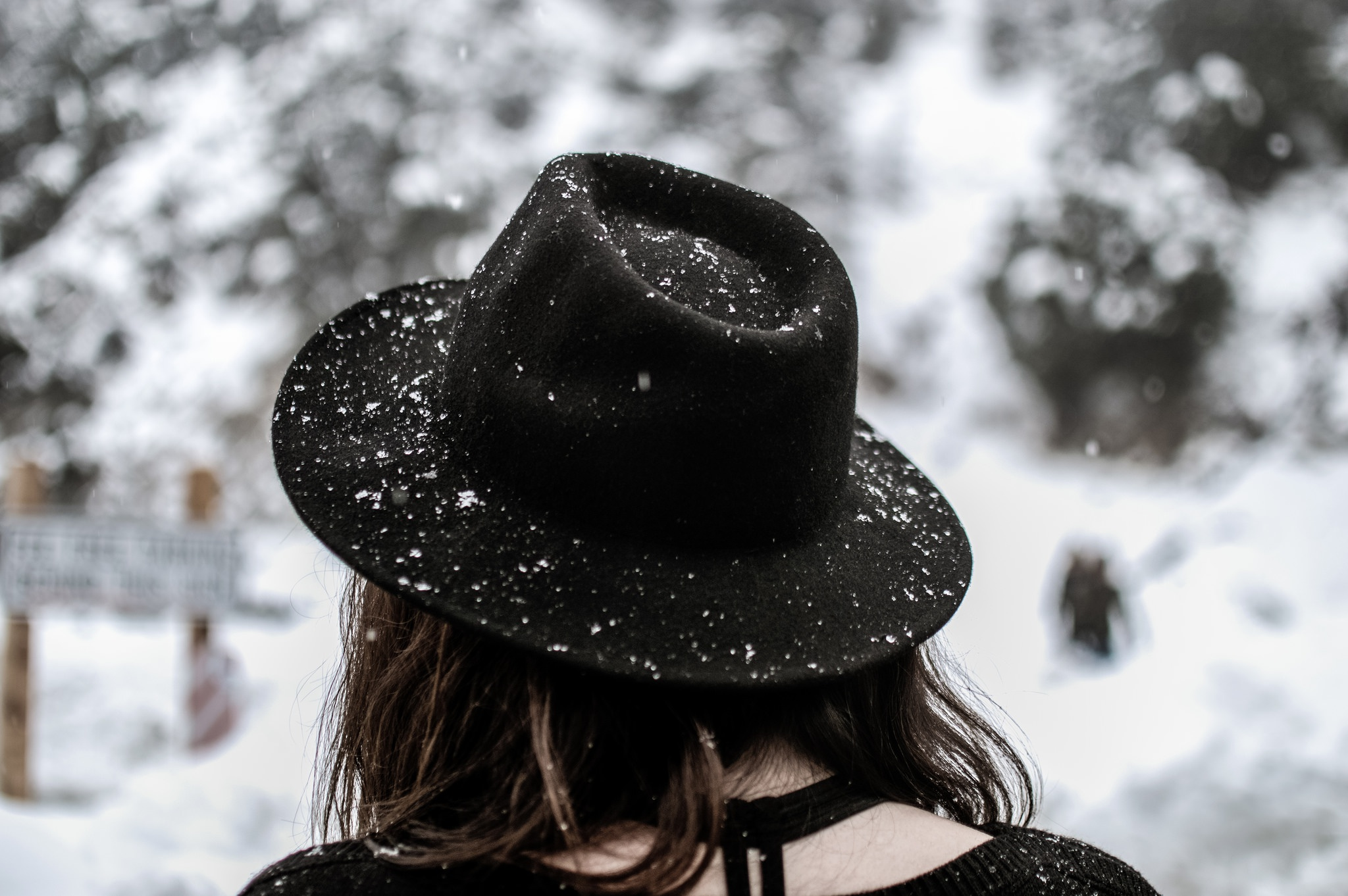 Зимняя аватарка для девушки