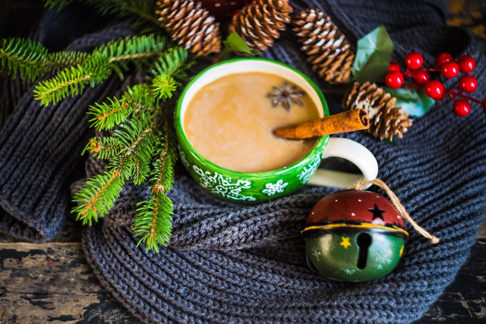 Поздравление с новым годом кофе