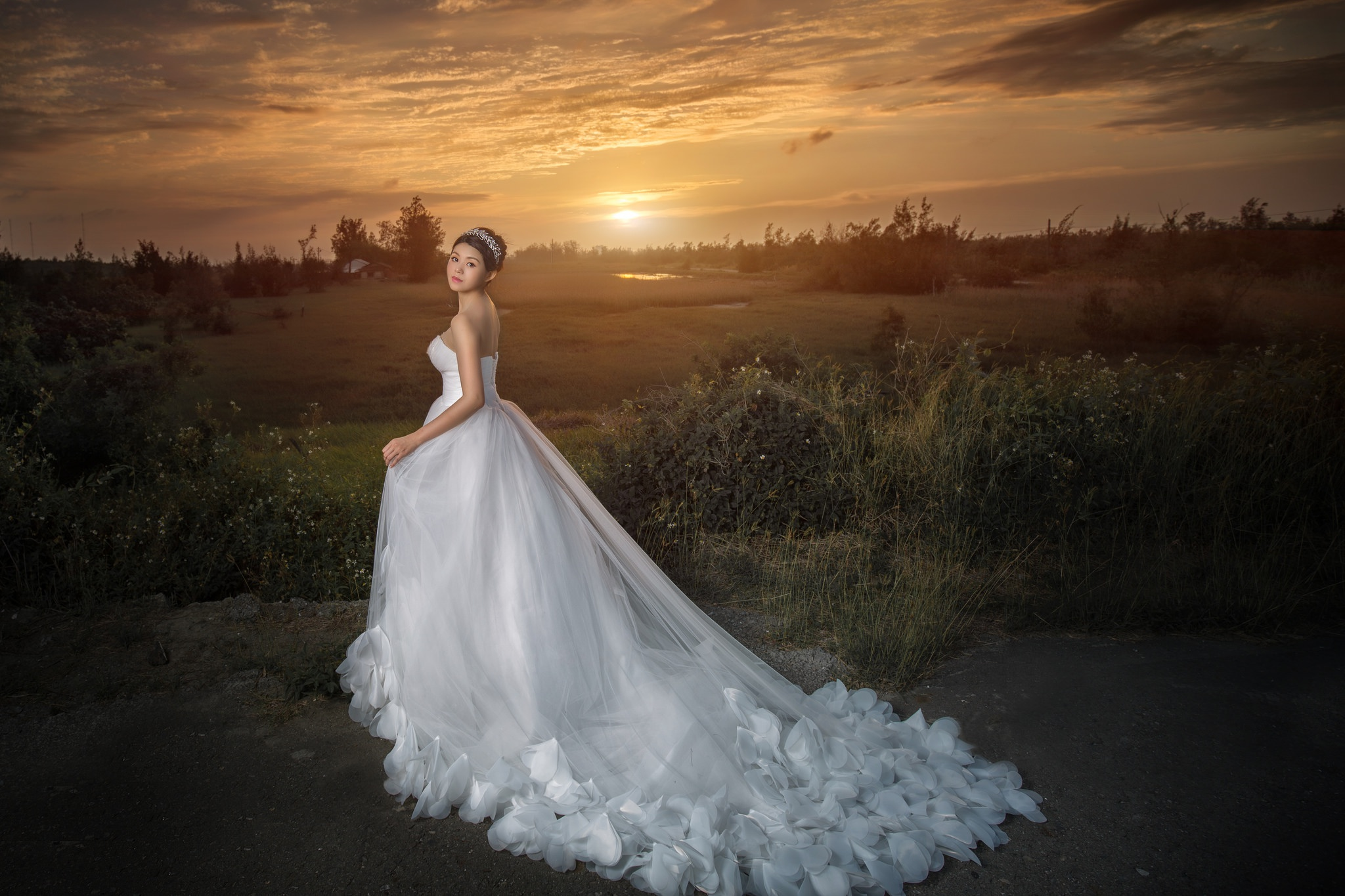 невеста на природе - 2