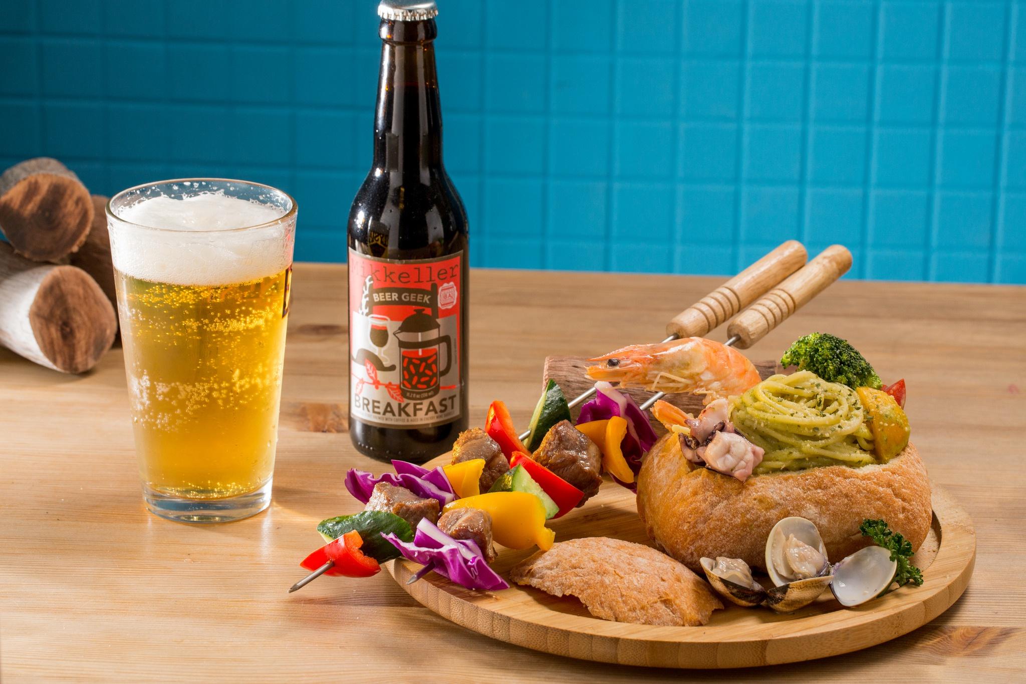 Картинка шашлыка и пива