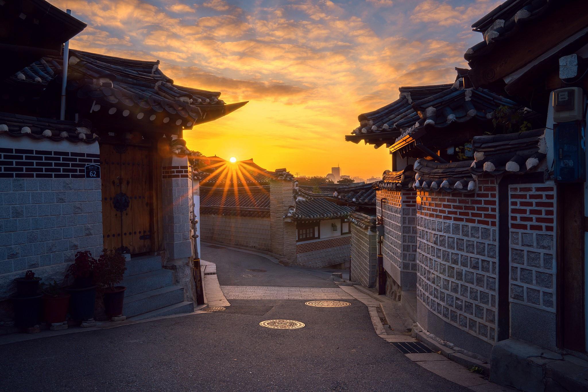 фото японский город утро меня дома