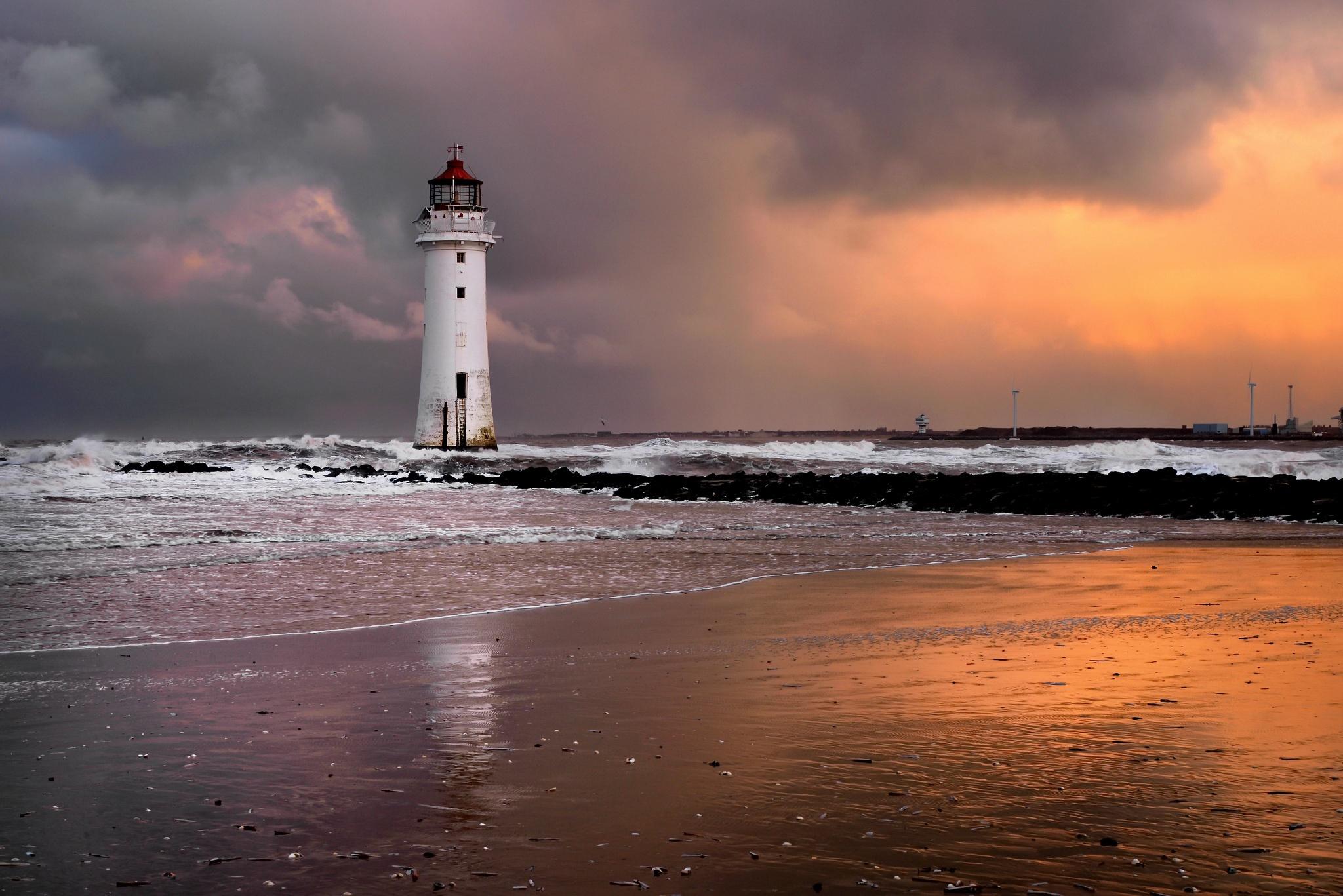 маяк море берег lighthouse sea shore  № 2220820 без смс
