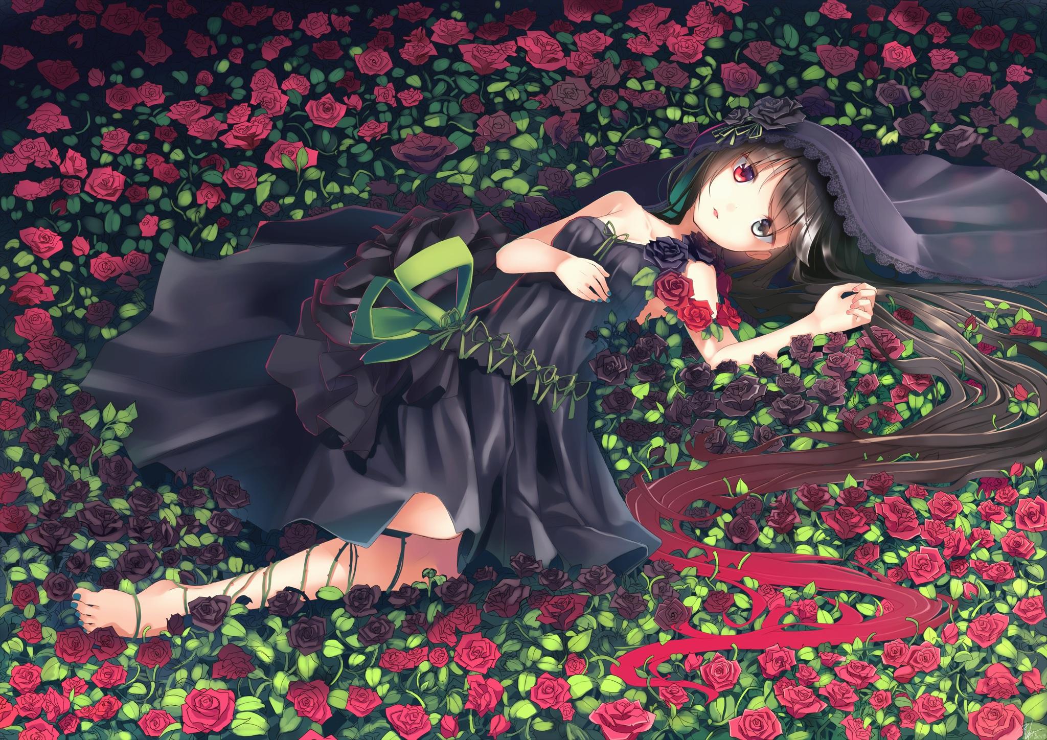Прикол про, аниме картинки розы