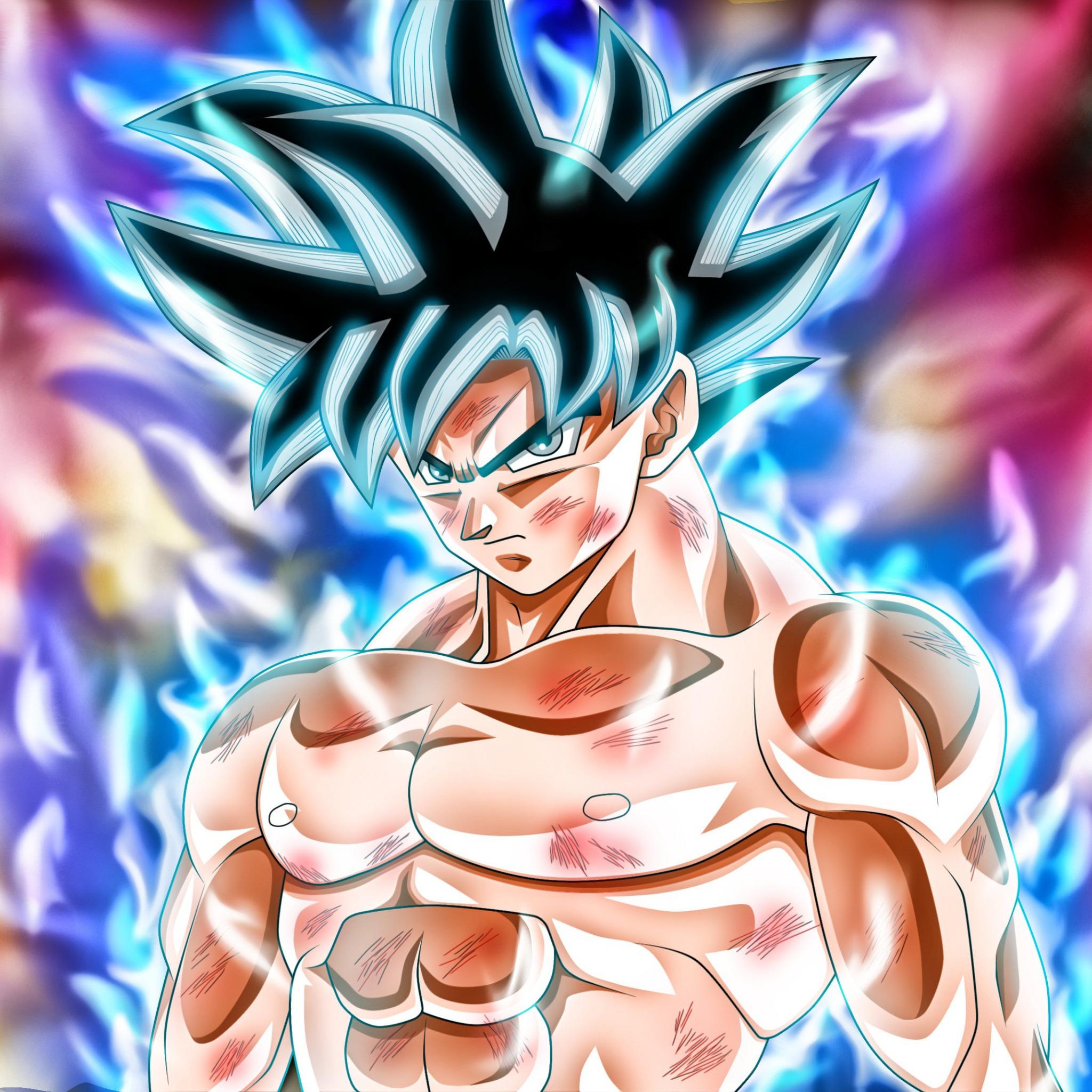Скачать обои DBS, game, alien, anime, manga, Son Goku, power